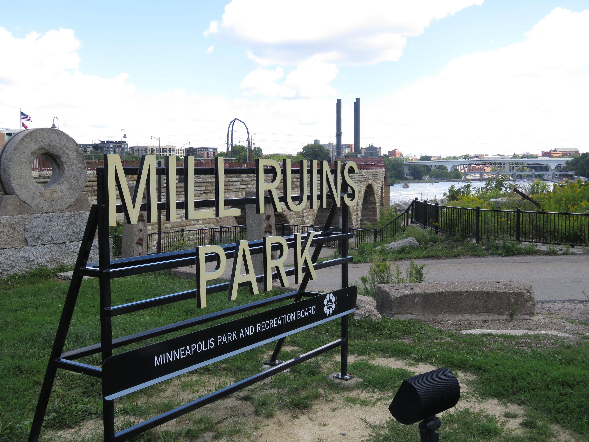 Mill Ruins Park