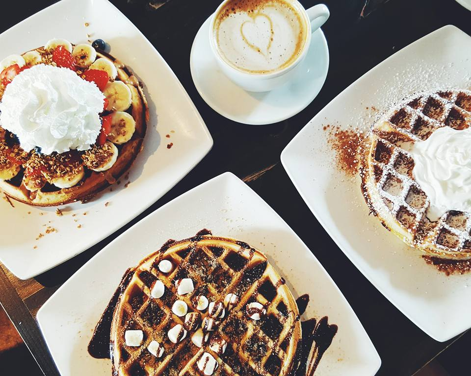 Breakfast at Black Coffee and Waffle Bar
