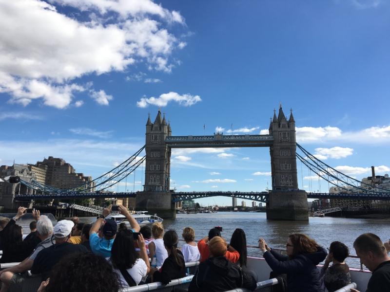 Often mistaken for London Bridge