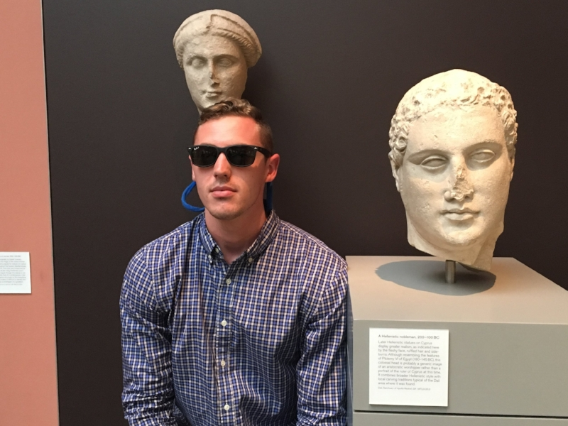 Who knew people wore Croakies throughout the Roman Empire?