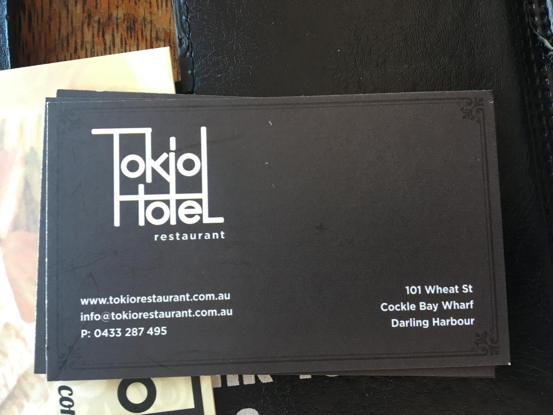 Tokio Hotel Restaurant