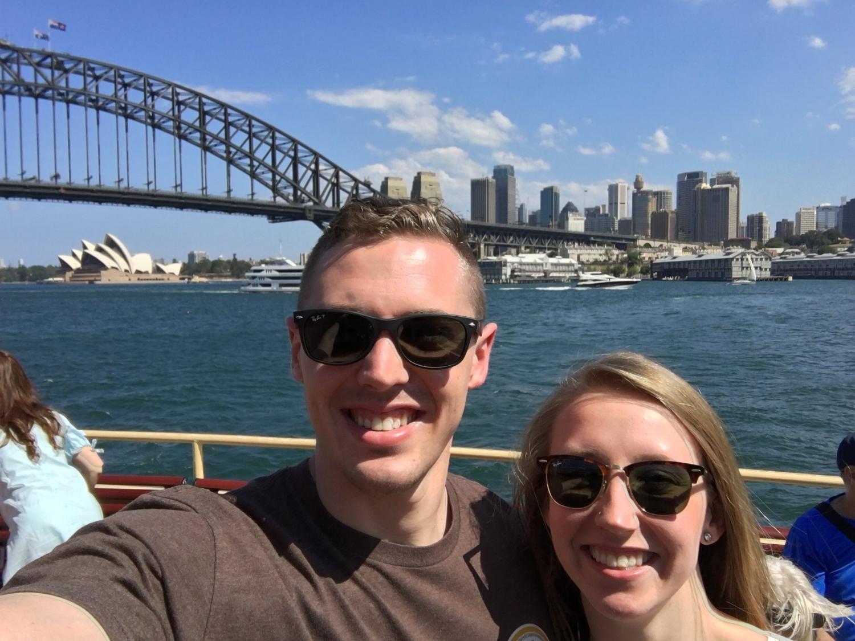 Mandatory Australian selfie