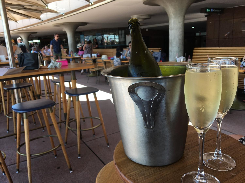 Champagne at the Opera Bar