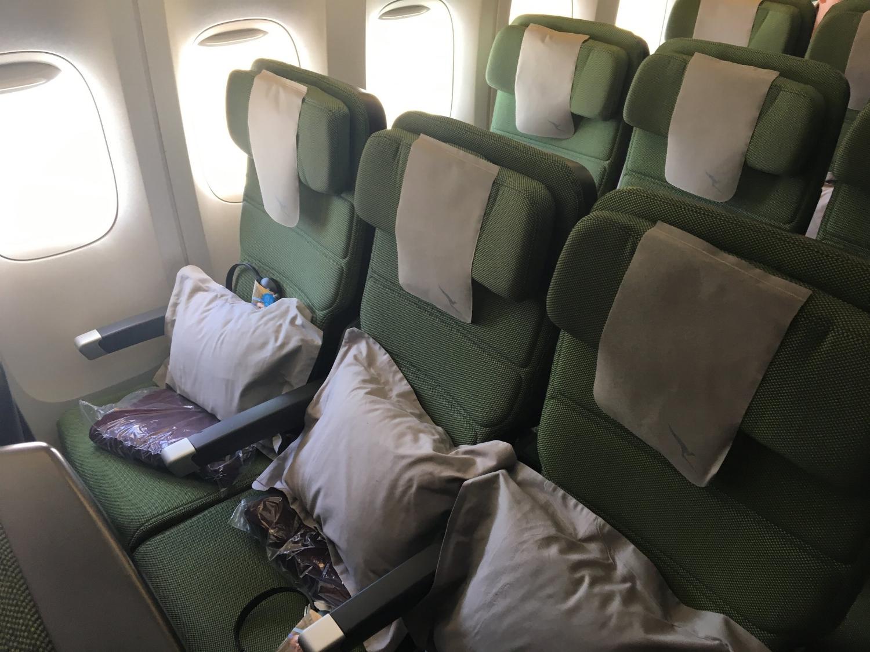 Qantas 747 Economy