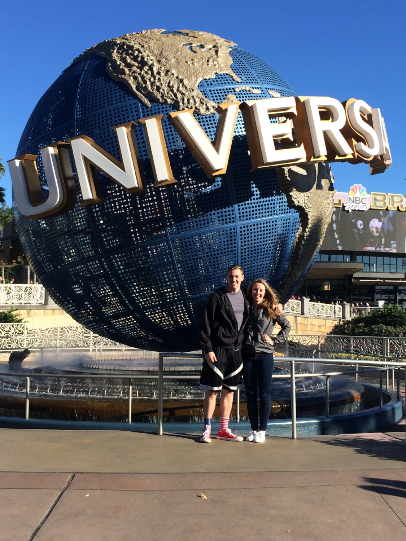 Last year's trip to Universal Studios