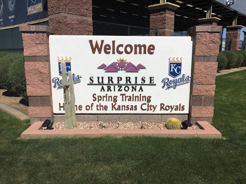 Kansas City Royals spring training