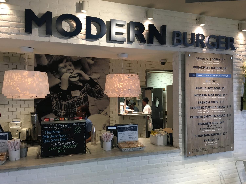 Modern Burger at Phoenix Sky Harbor