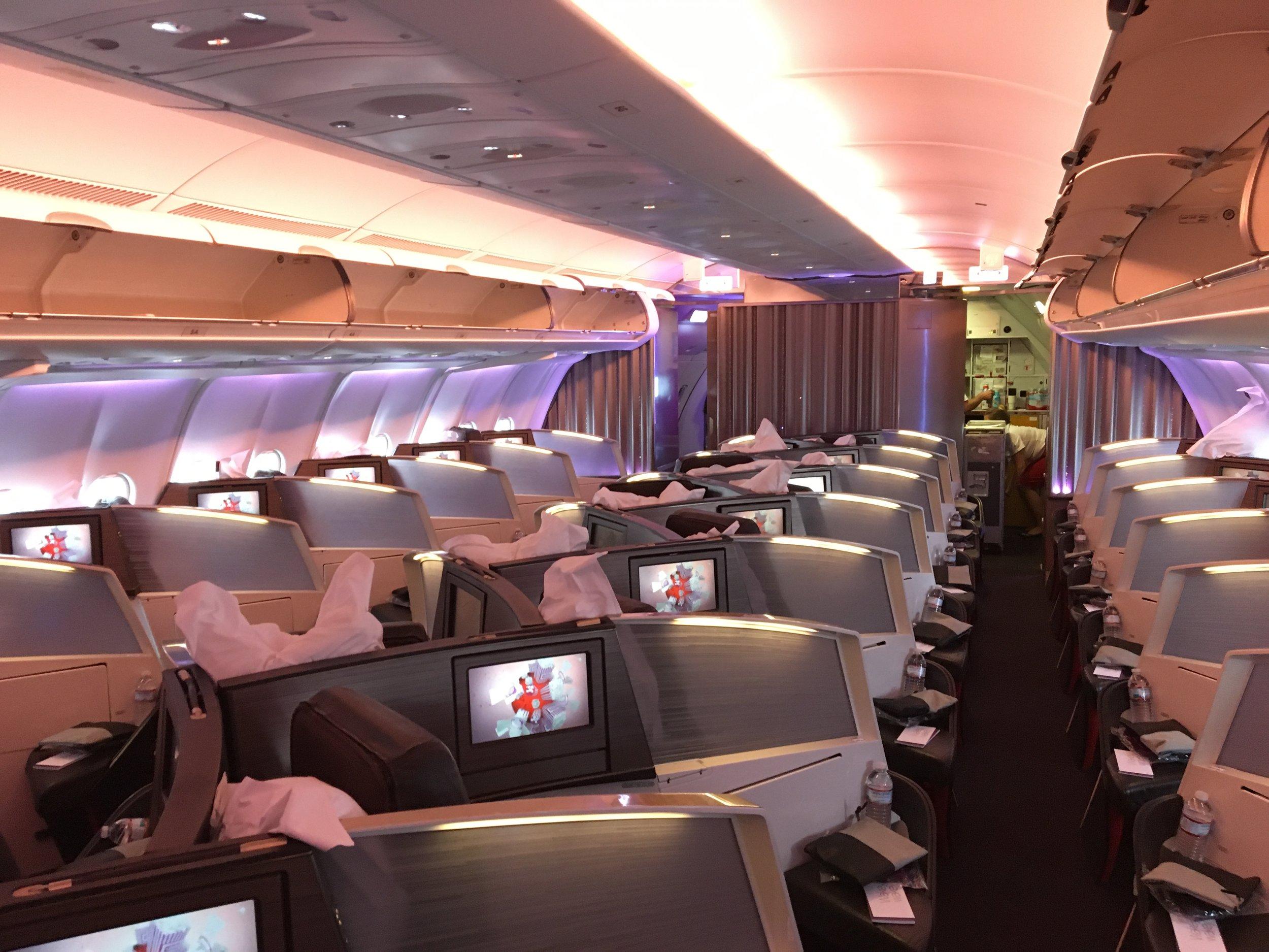 VIRGIN ATLANTIC UPPER CLASS A330