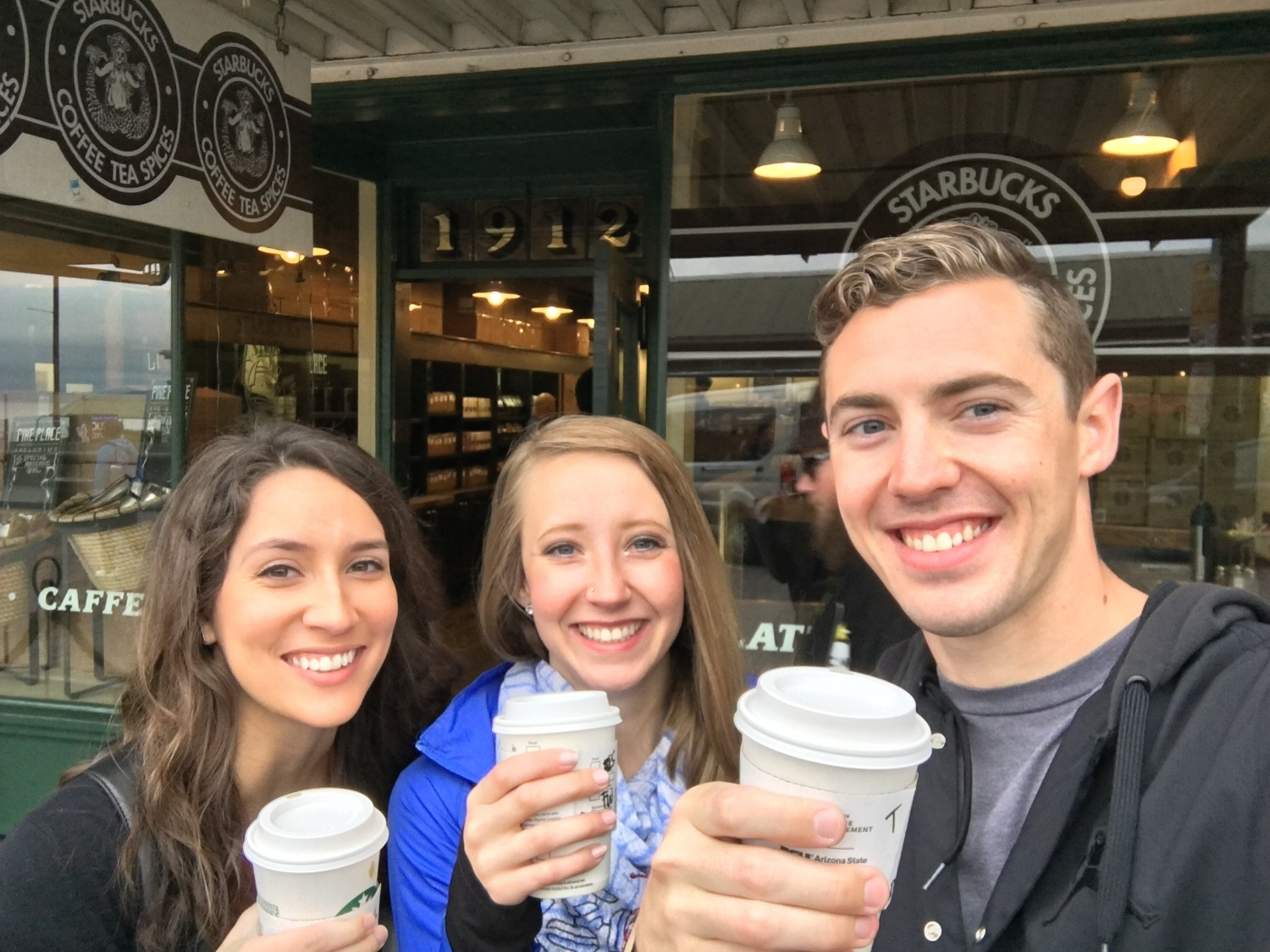 THE ORIGINAL STARBUCKS, SEATTLE