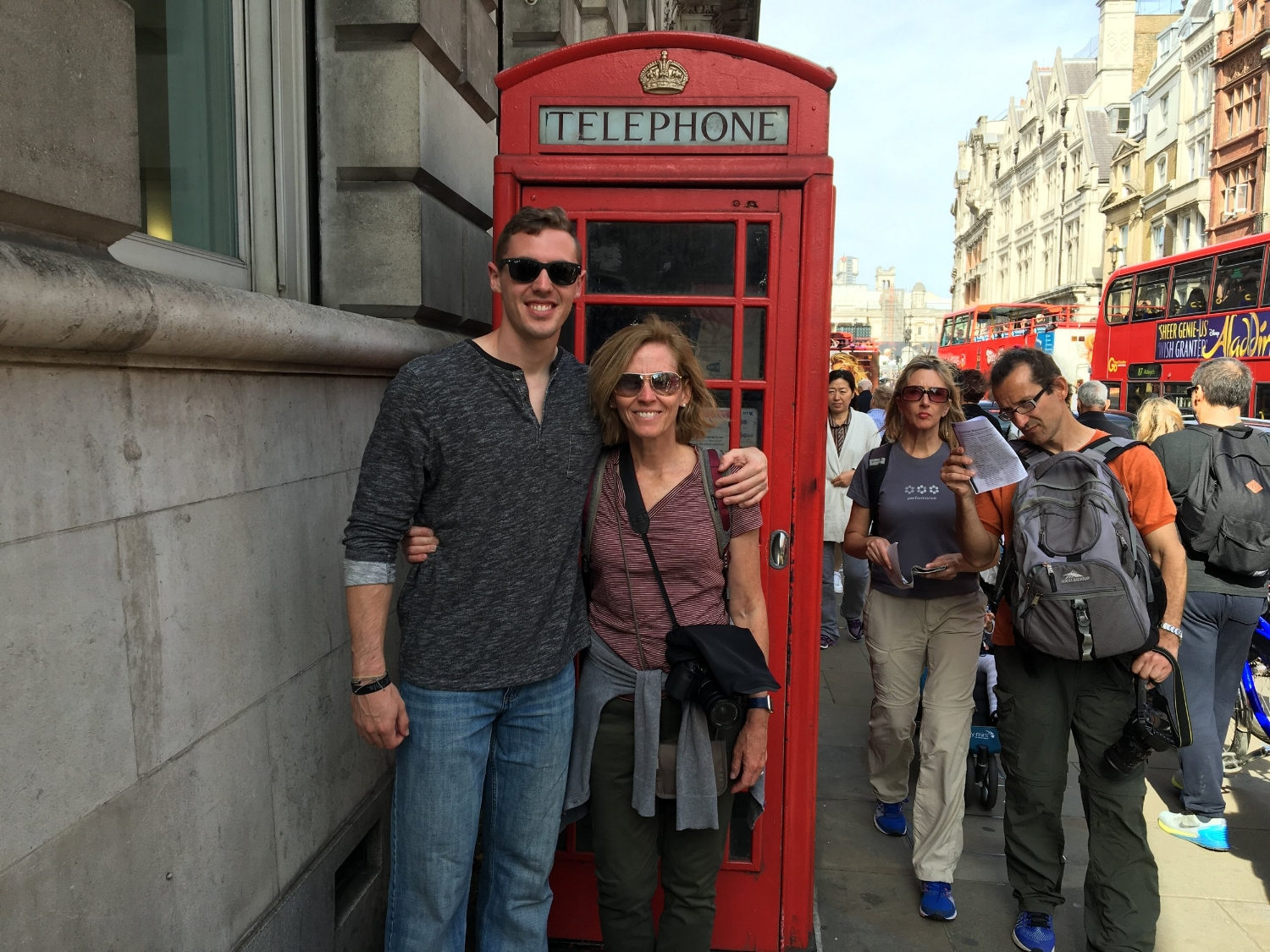 TAKE YOUR MOM TO LONDON FOR THE WEEKEND, TRUST ME IT'S WORTH IT.