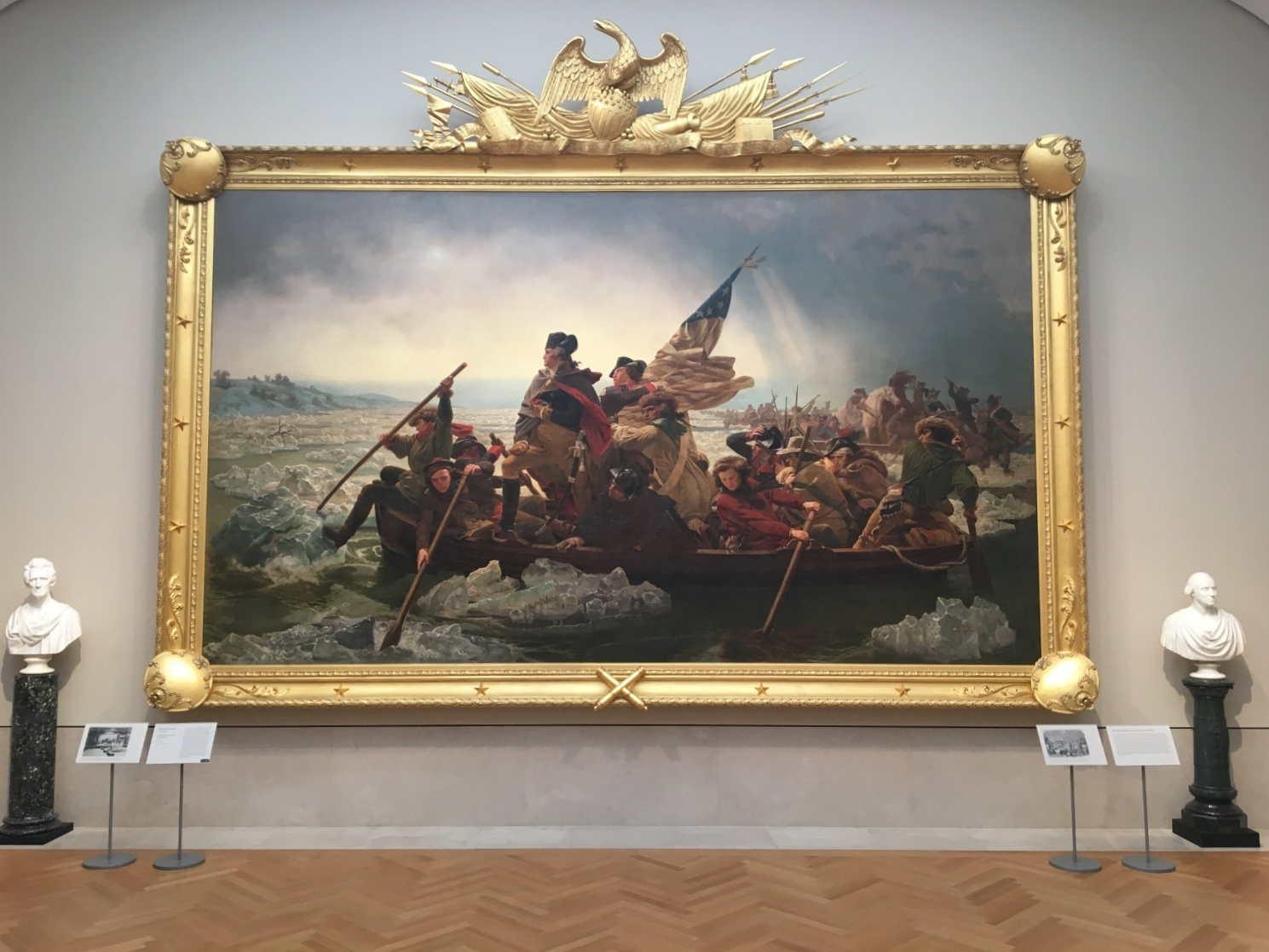 washington crossing the delaware, the met