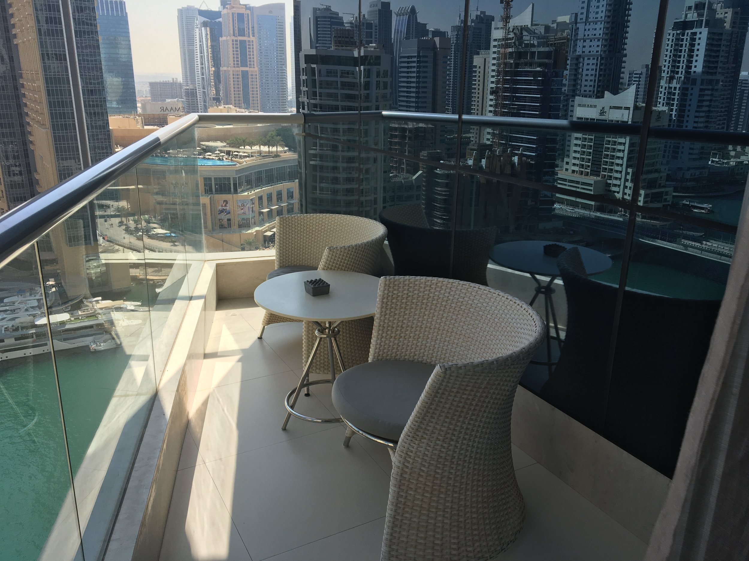 Intercontinental dubai marina 'Studio Marina View' Room