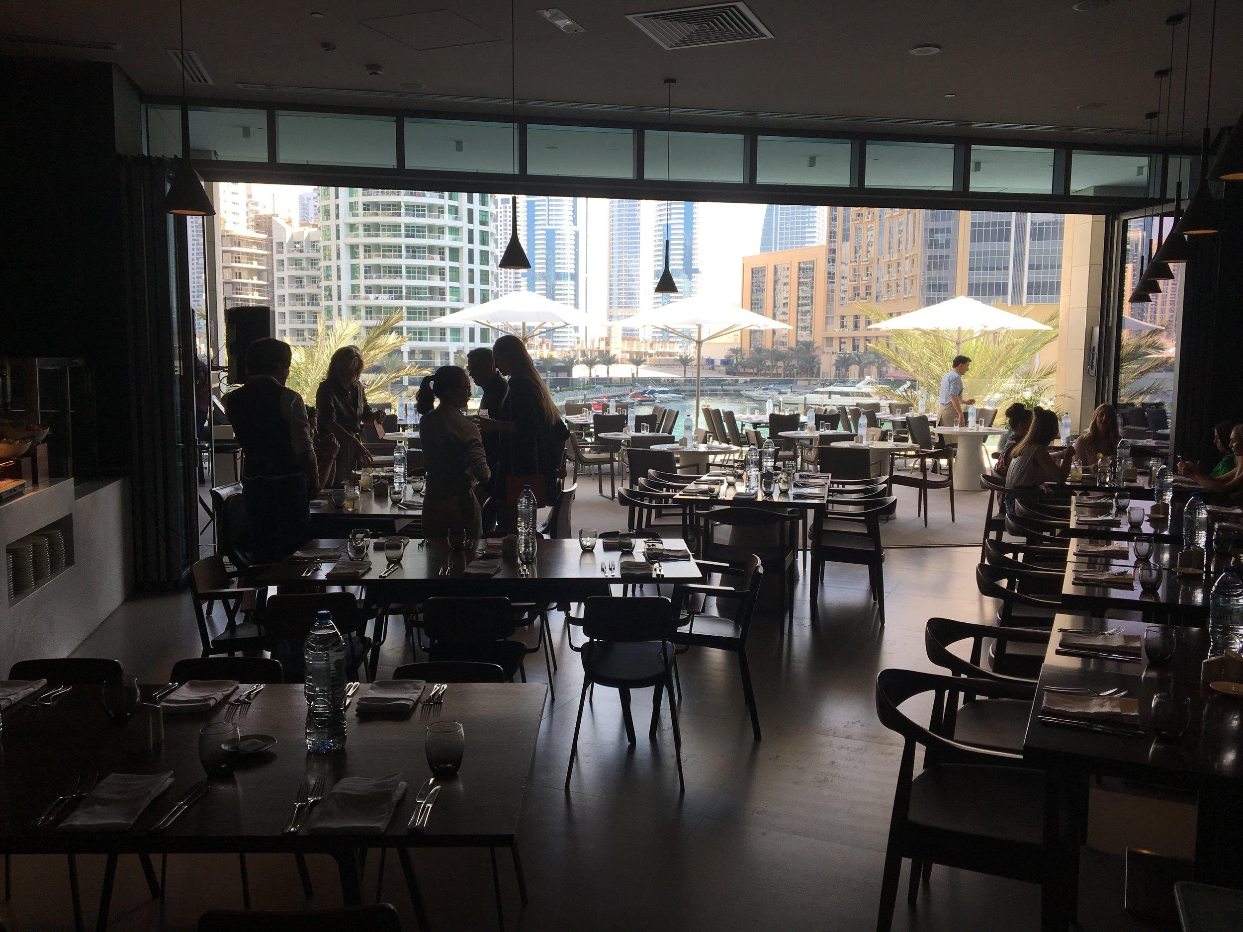 intercontinental dubai marina restaurant