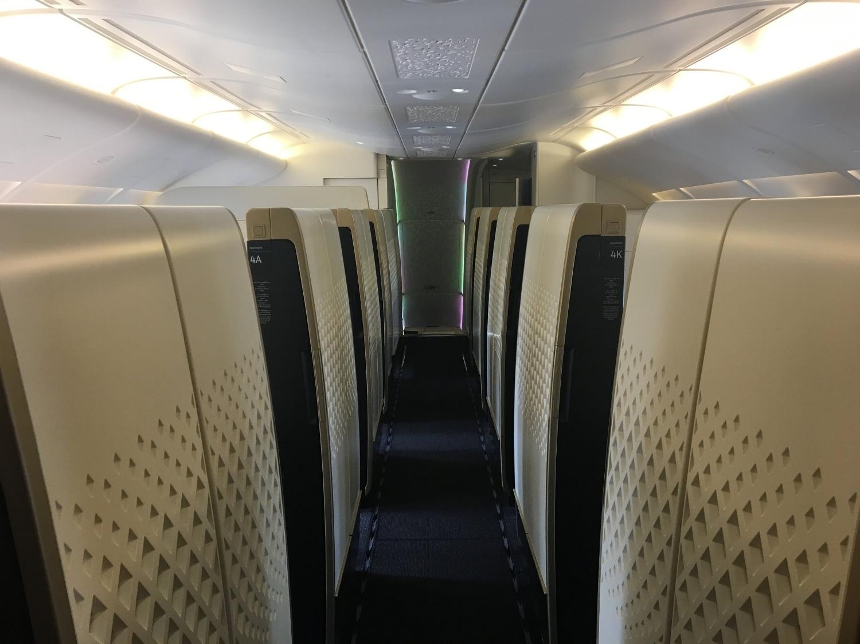 ETIHAD A380 FIRST CLASS APARTMENTS