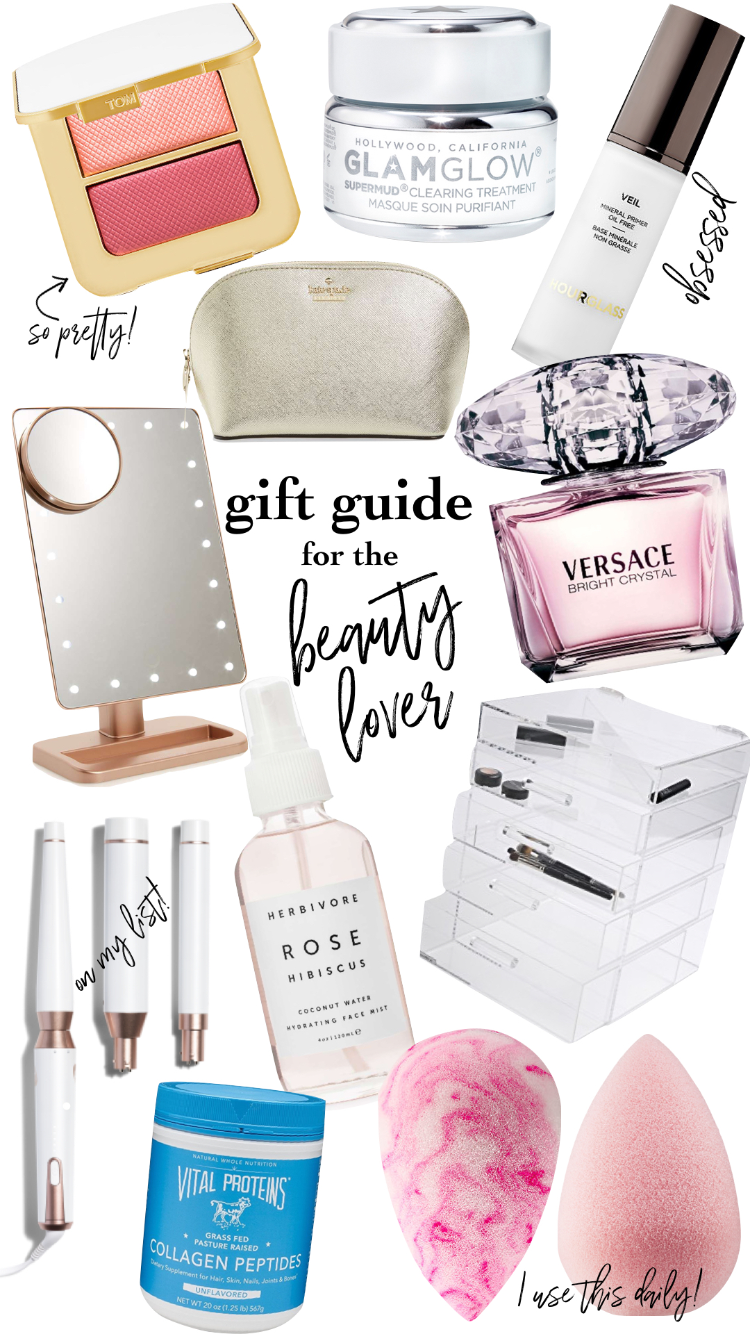 GIFT GUIDE:FOR THE BEAUTY LOVER -