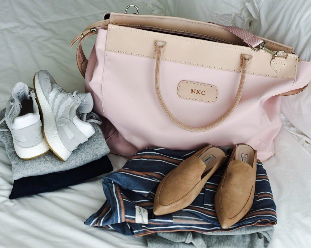 Jon Hart Design - Burlington Bag in Rose