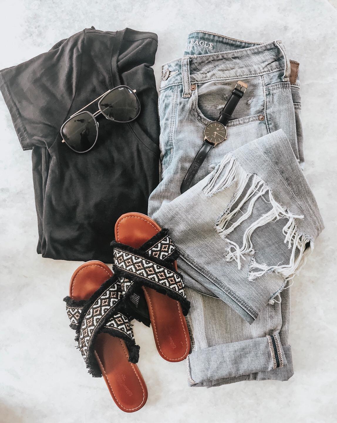 flatlay - casual style - Megan Kristine