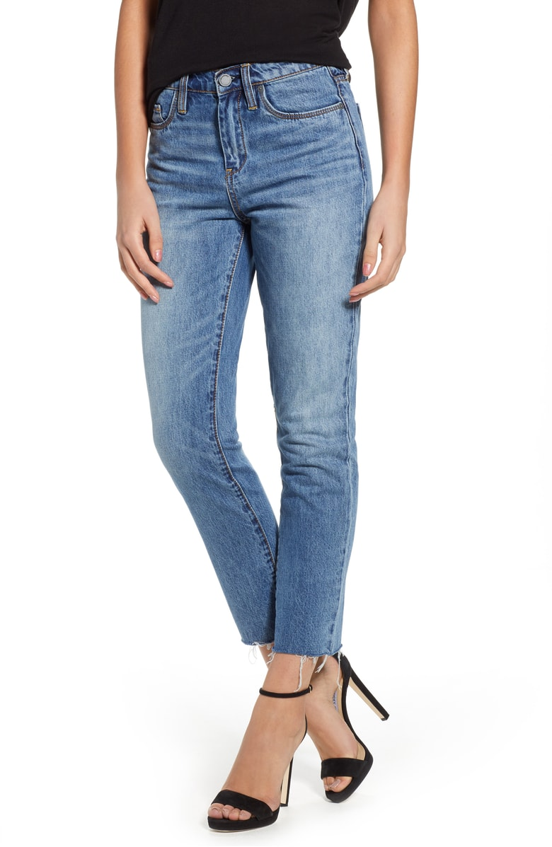 BLANKNYC The Madison Straight Leg Crop Jeans - SALE: $58.90 (after sale: $88)