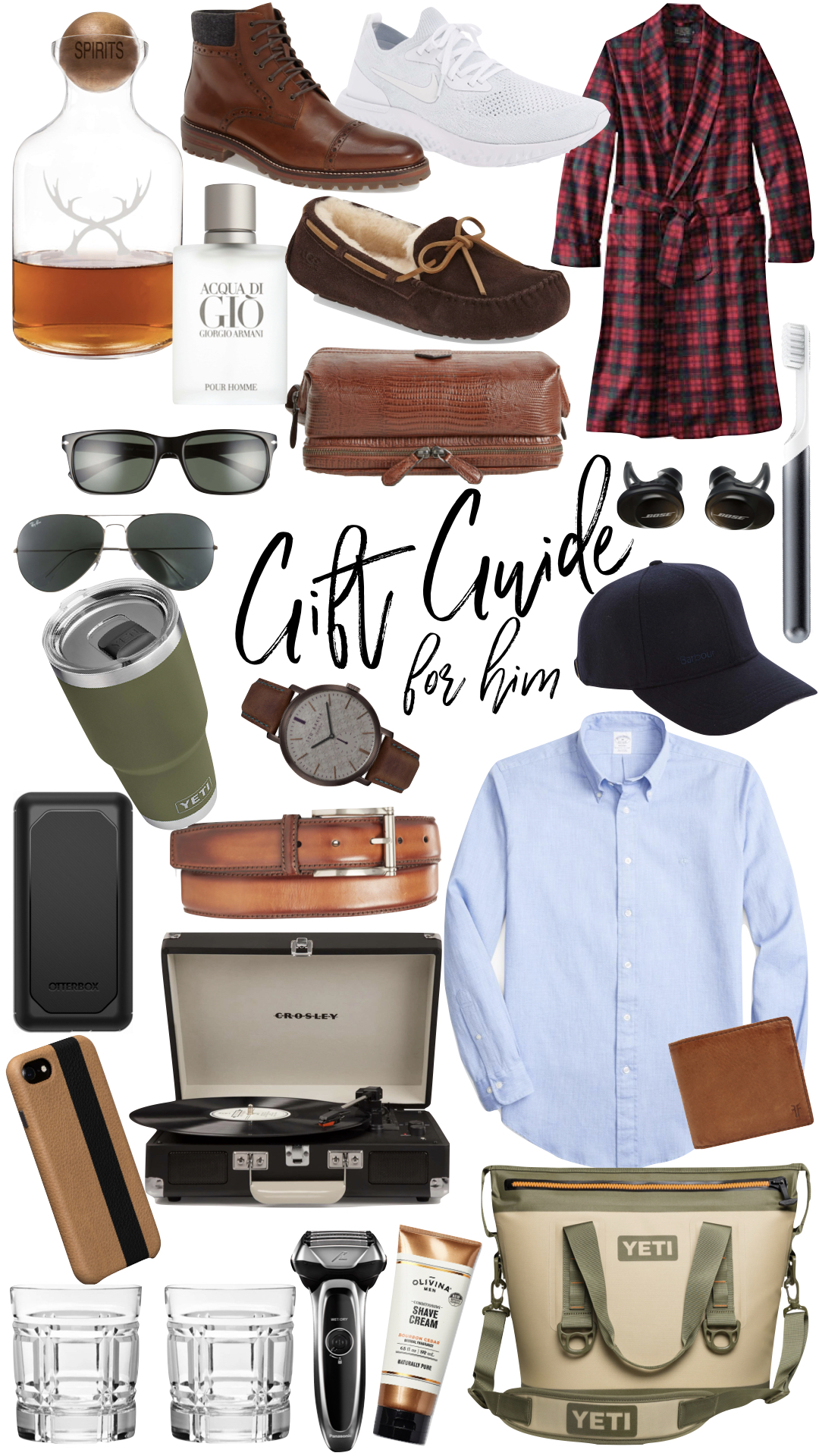 GIFT GUIDE: for him -