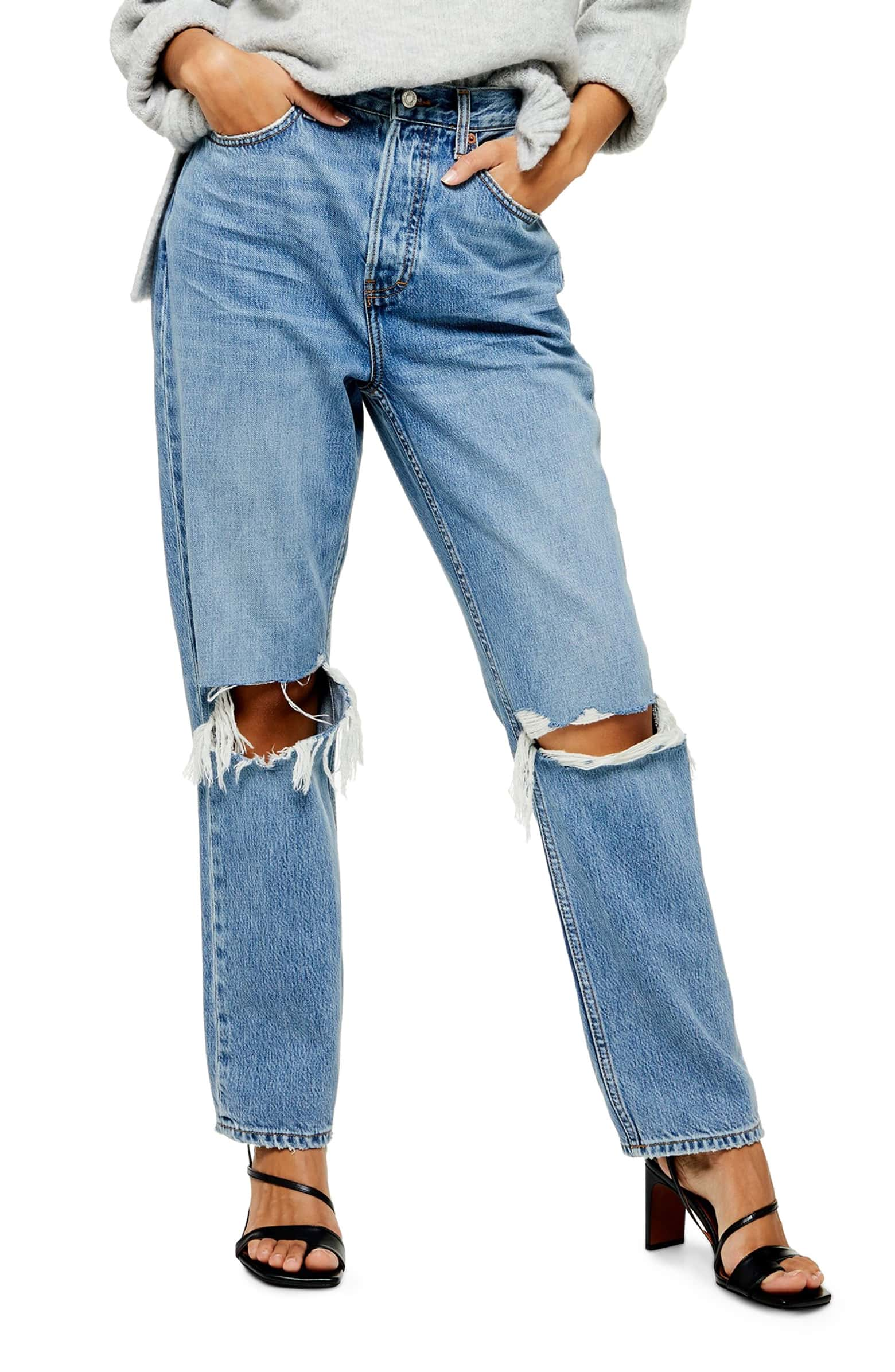 High Waist Jeans - SALE: $52.90, after sale: $80