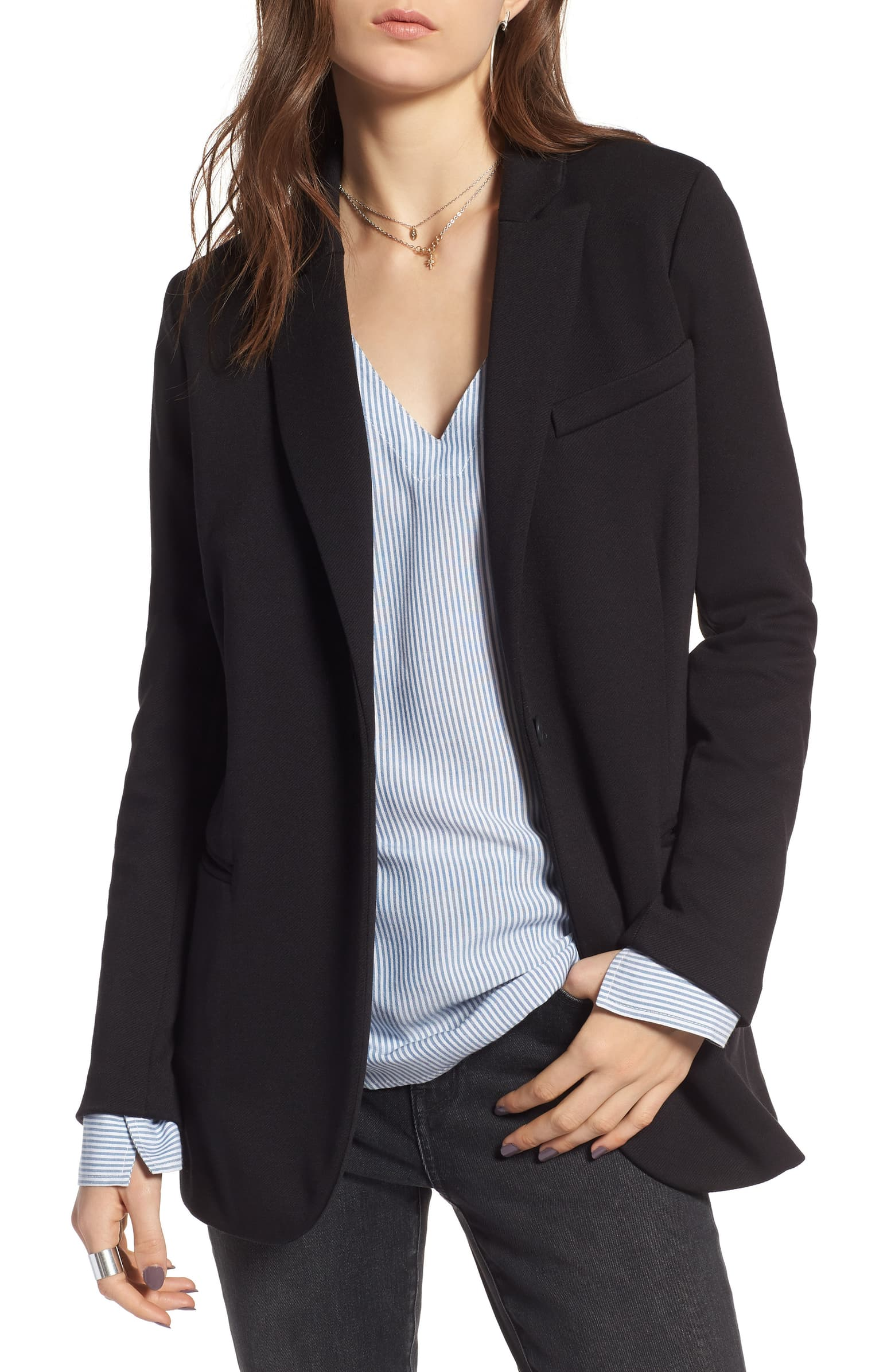 Long Knit Blazer - SALE: $59.90, after sale: $99