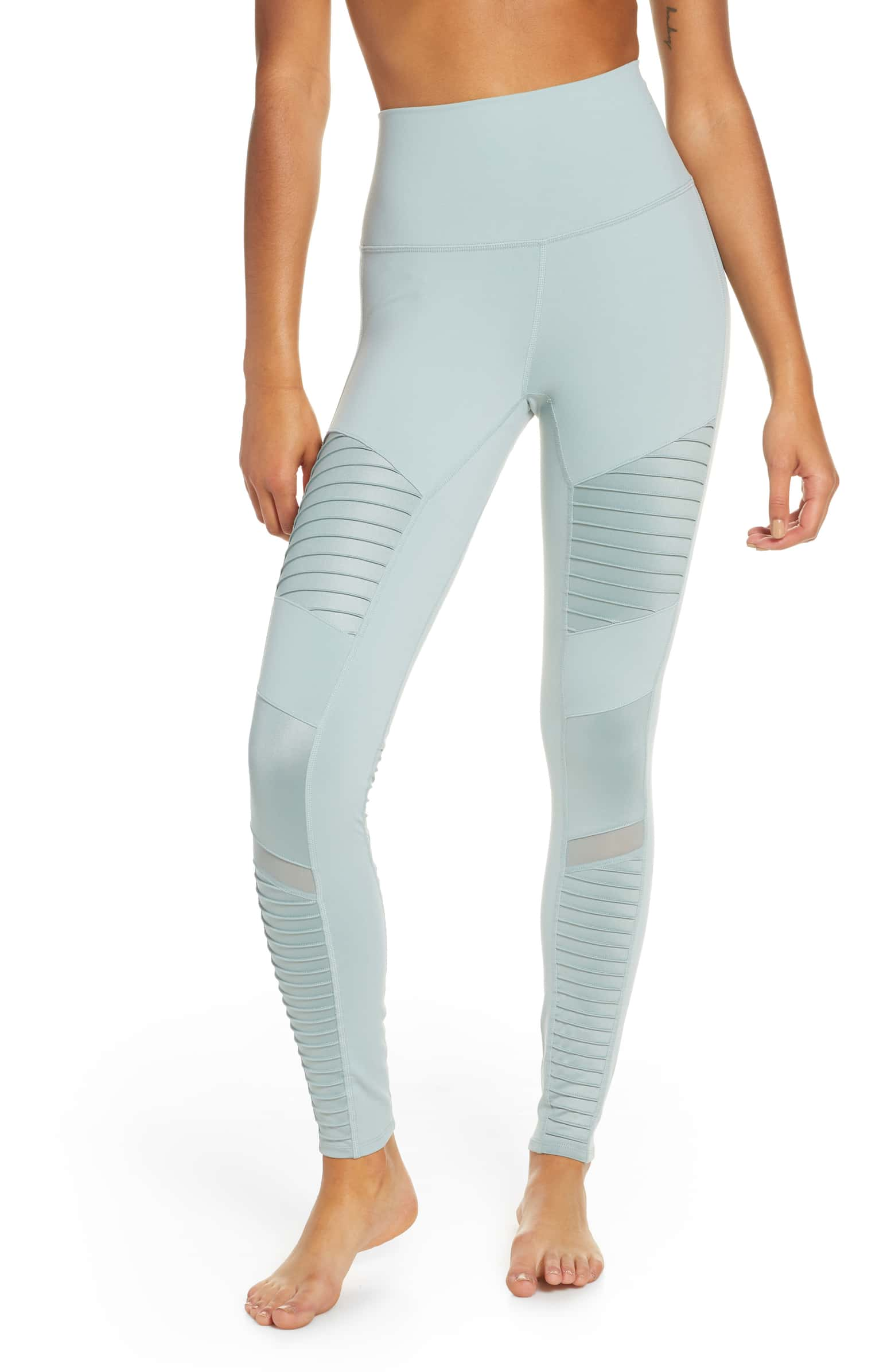 High Waist Moto Leggings - SALE: $79, after sale: $114