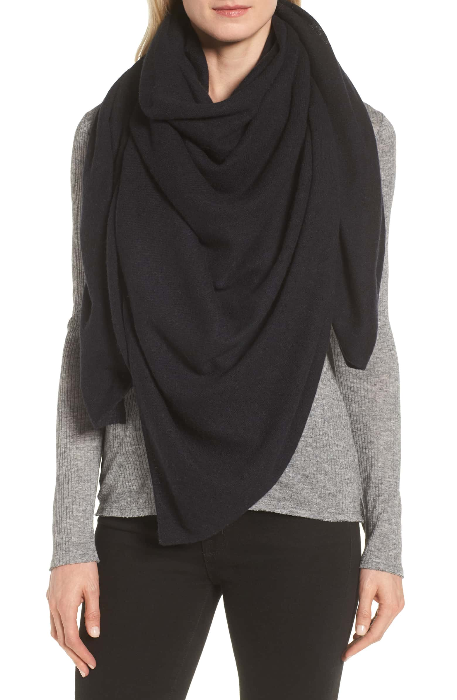 Lightweight Cashmere Scarf - SALE: $98.90, after sale: $149