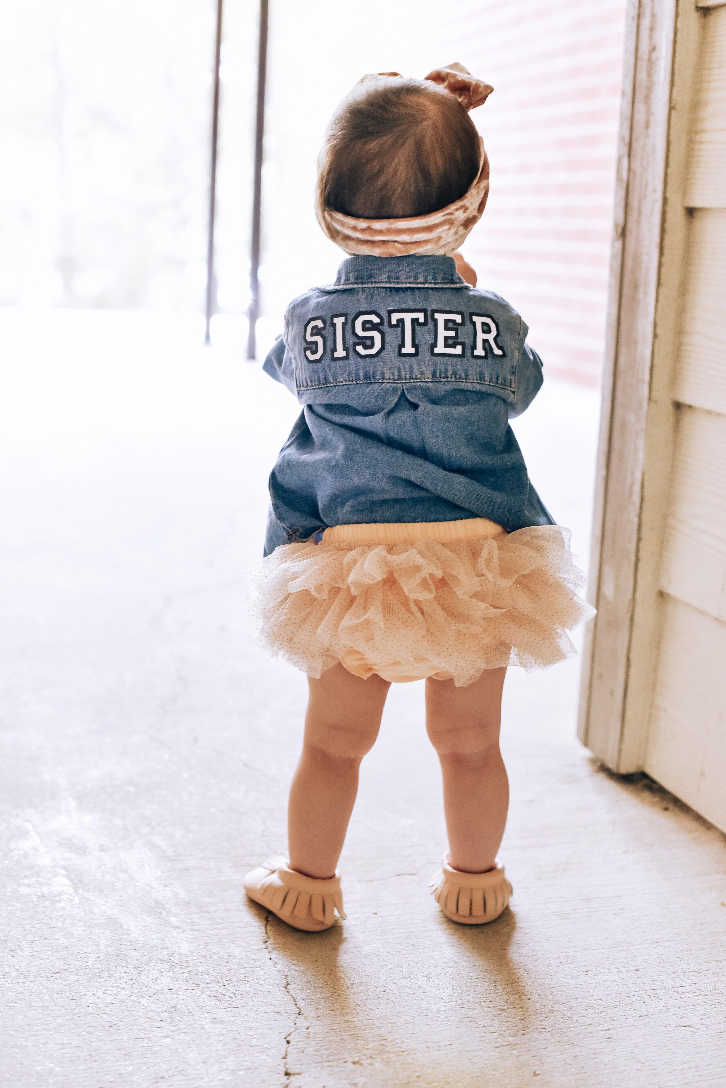 big sister - pregnancy announcement