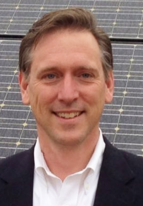 """""""It's time for UVA to lead on climate. With proven products like solar panels and electric busses, UVA can lower energy costs while cutting local pollution for a healthier community.""""  -  Sandy Reisky, Chairman, Apex Clean Energy; Founder, Generation 180, UVA Comm '88"""