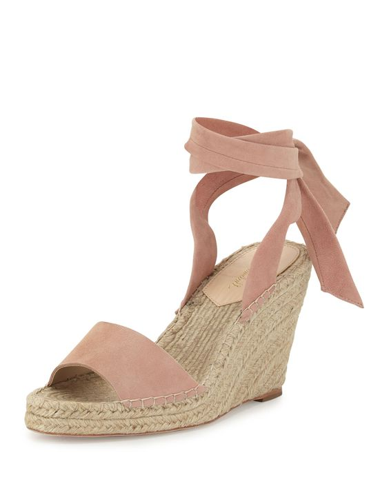 These  blush espadrilles