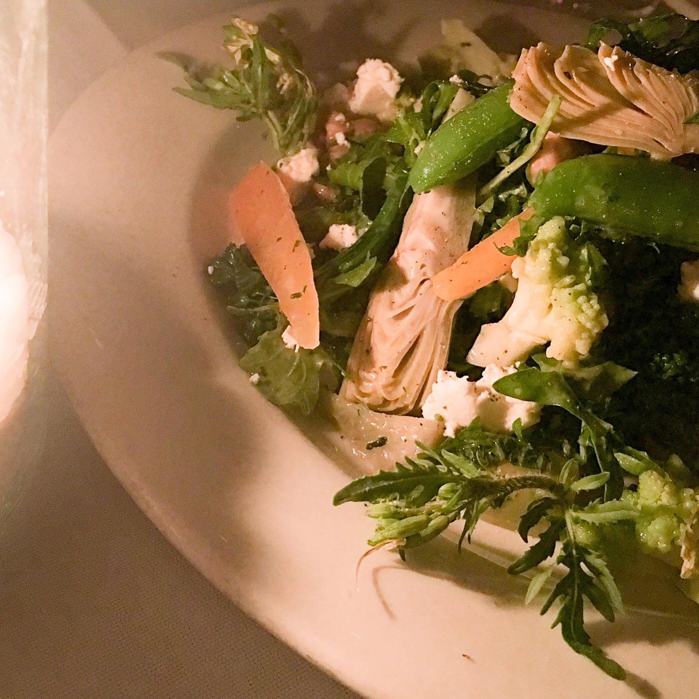 winter salad from the little door