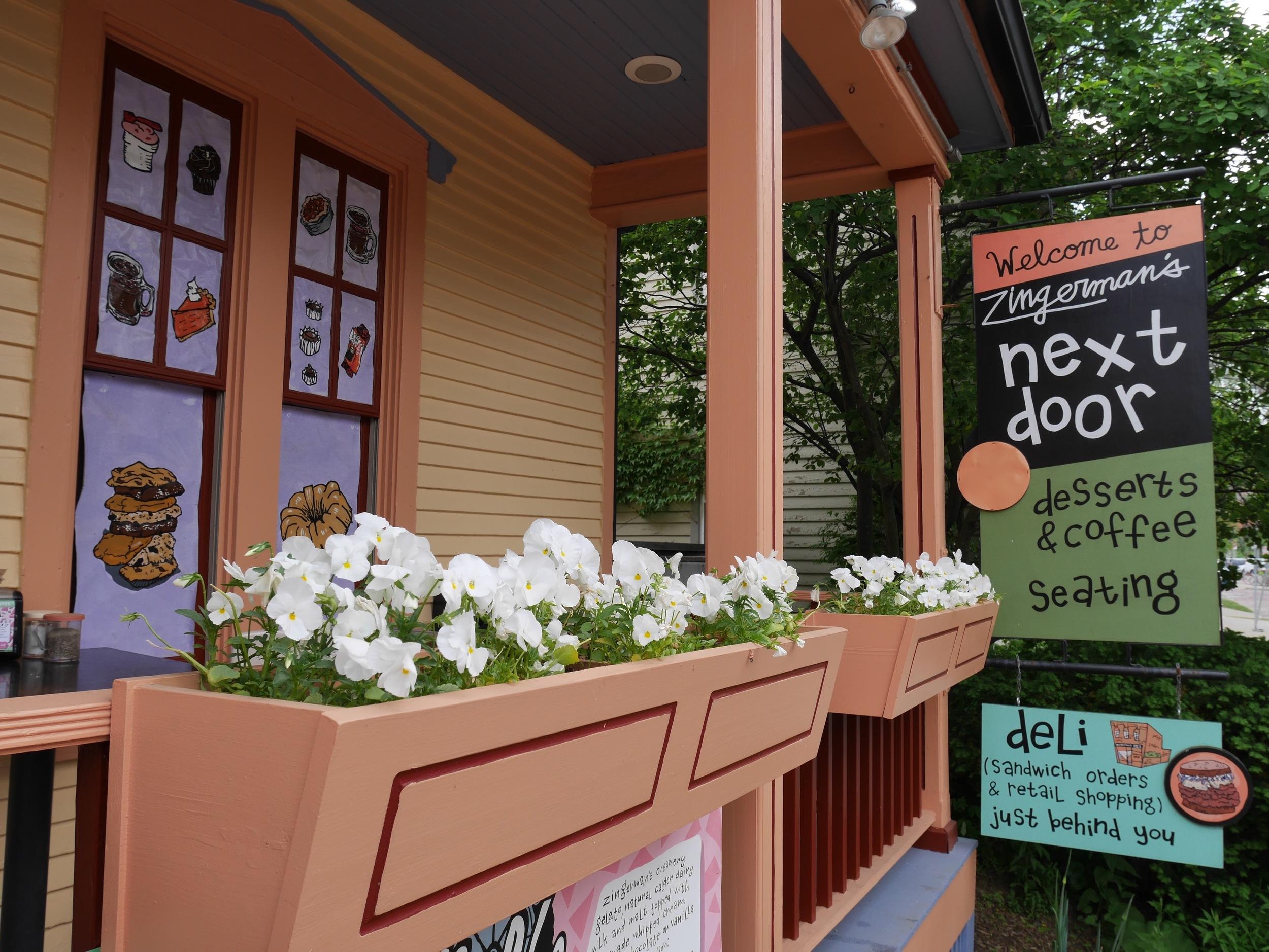 Zingerman's Next Door. . . try the gelato...