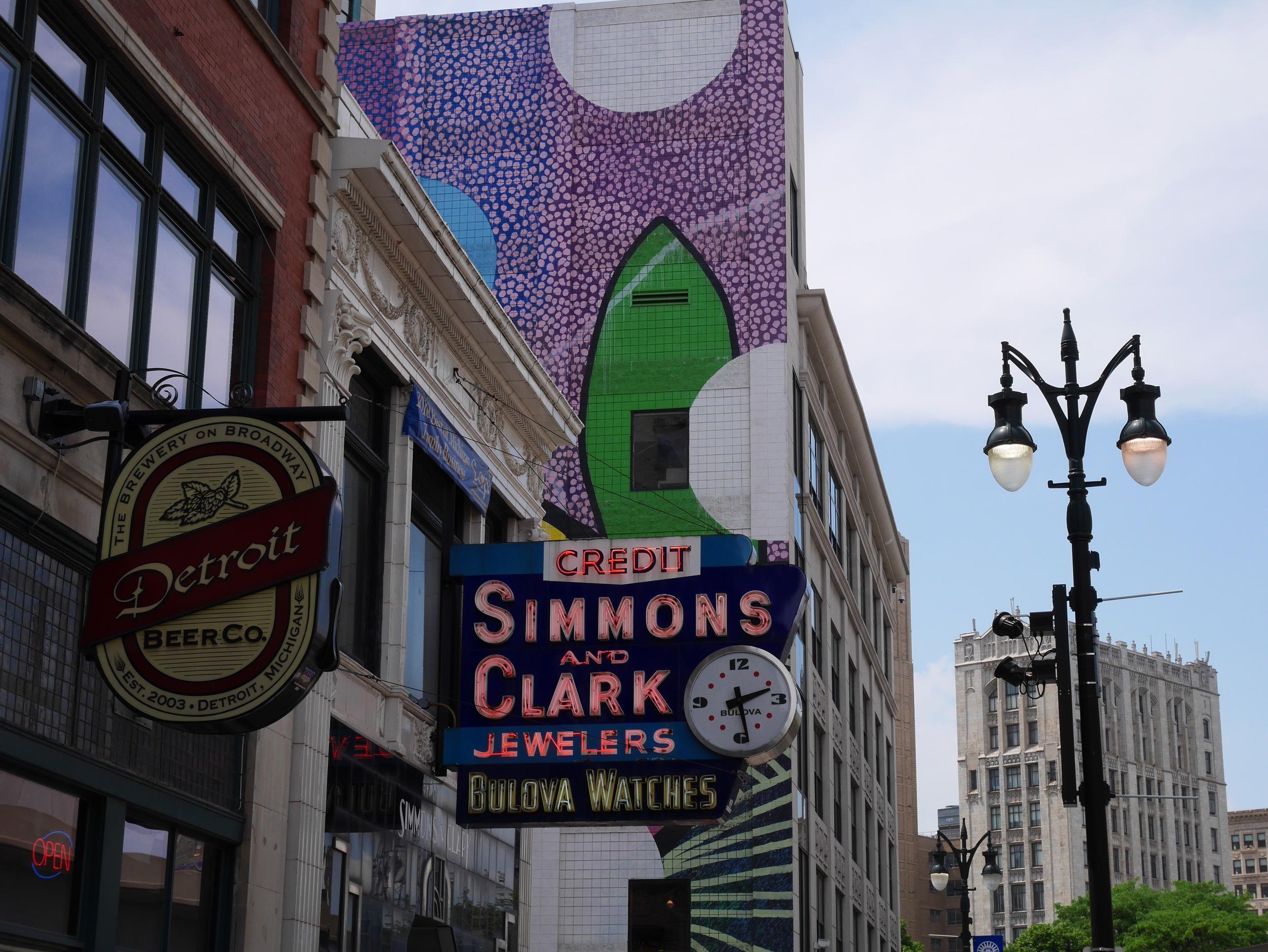 Take in the street art