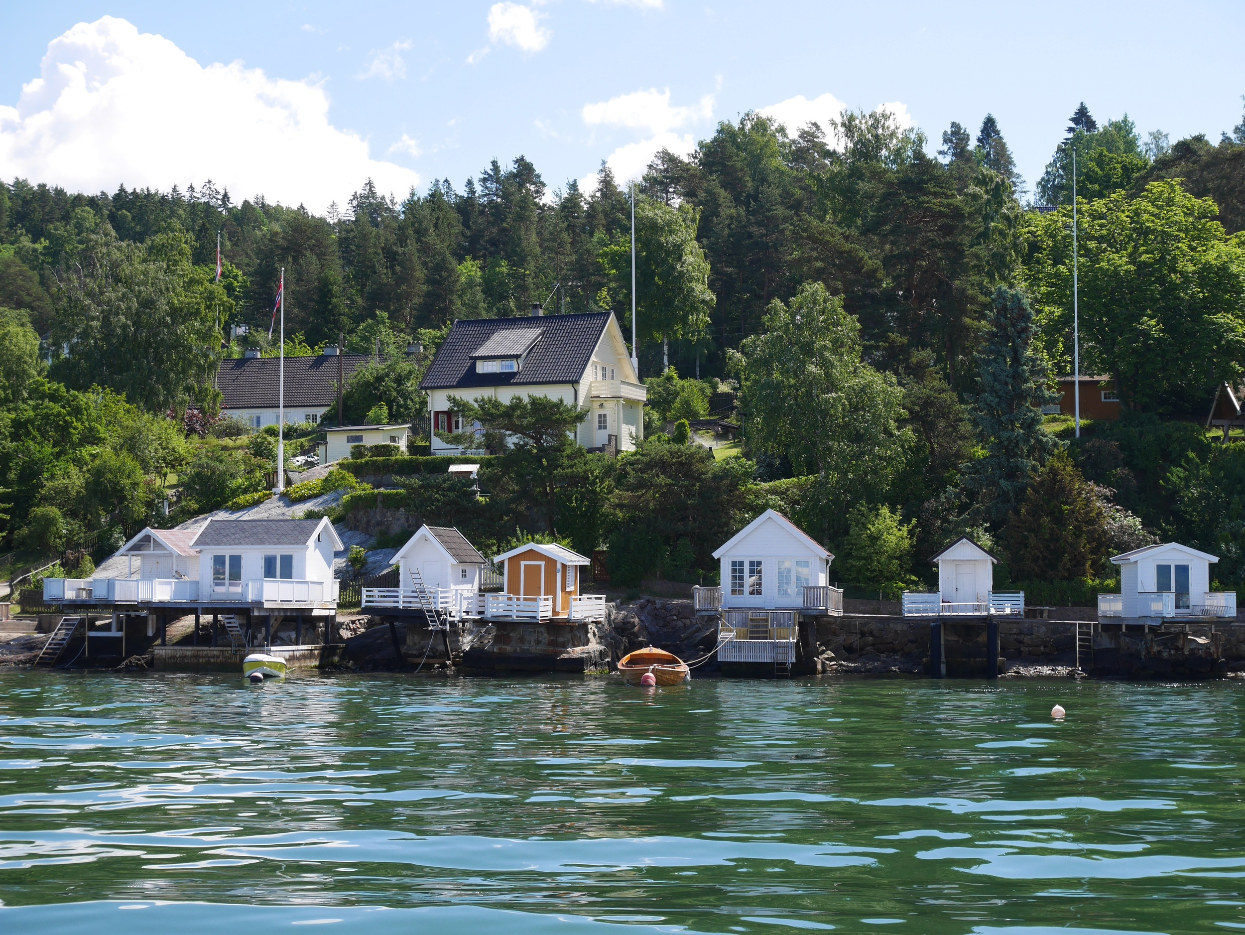 Oslo Fjord dock houses
