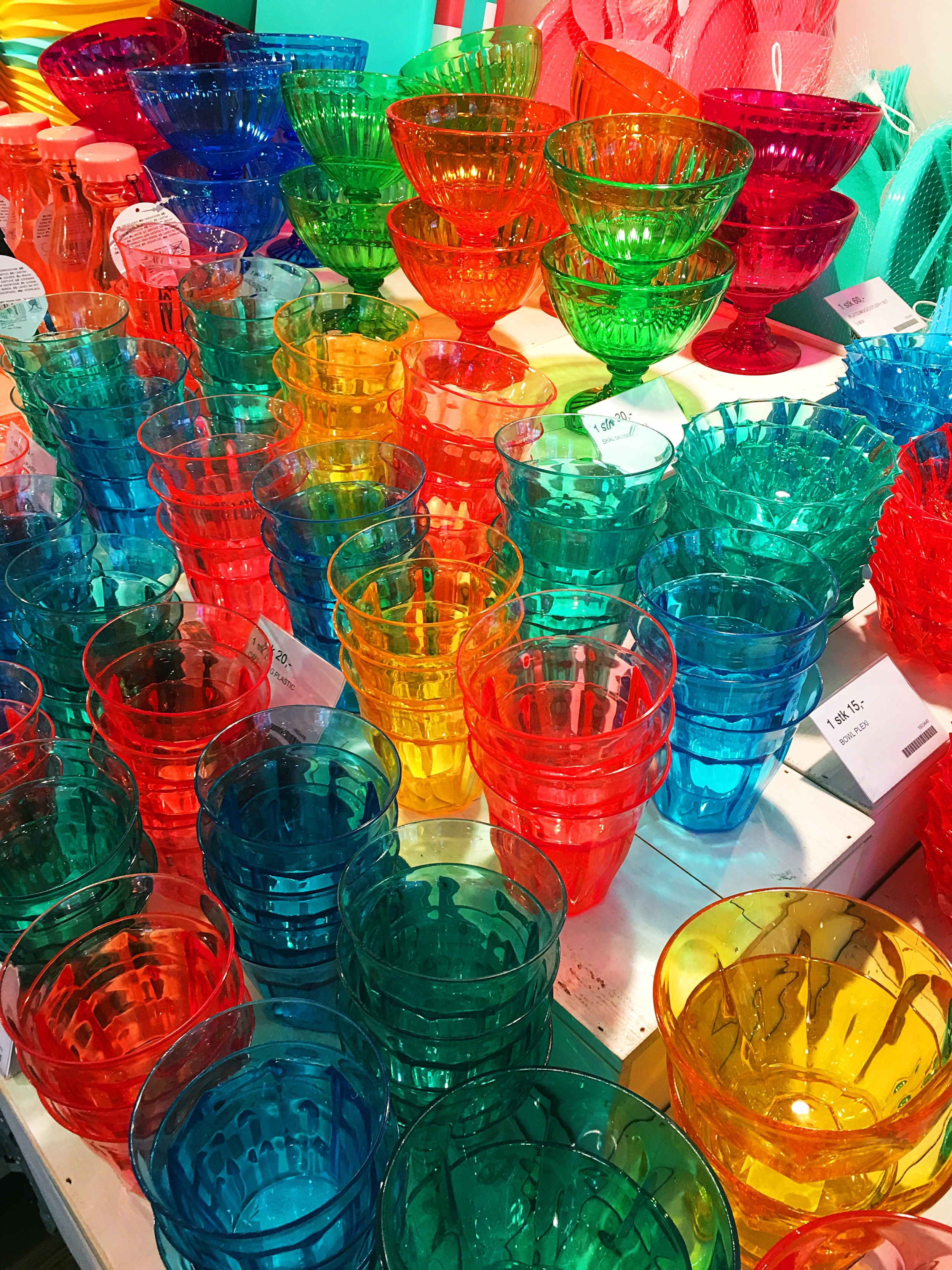 party cups at TGR on  Markveien 44