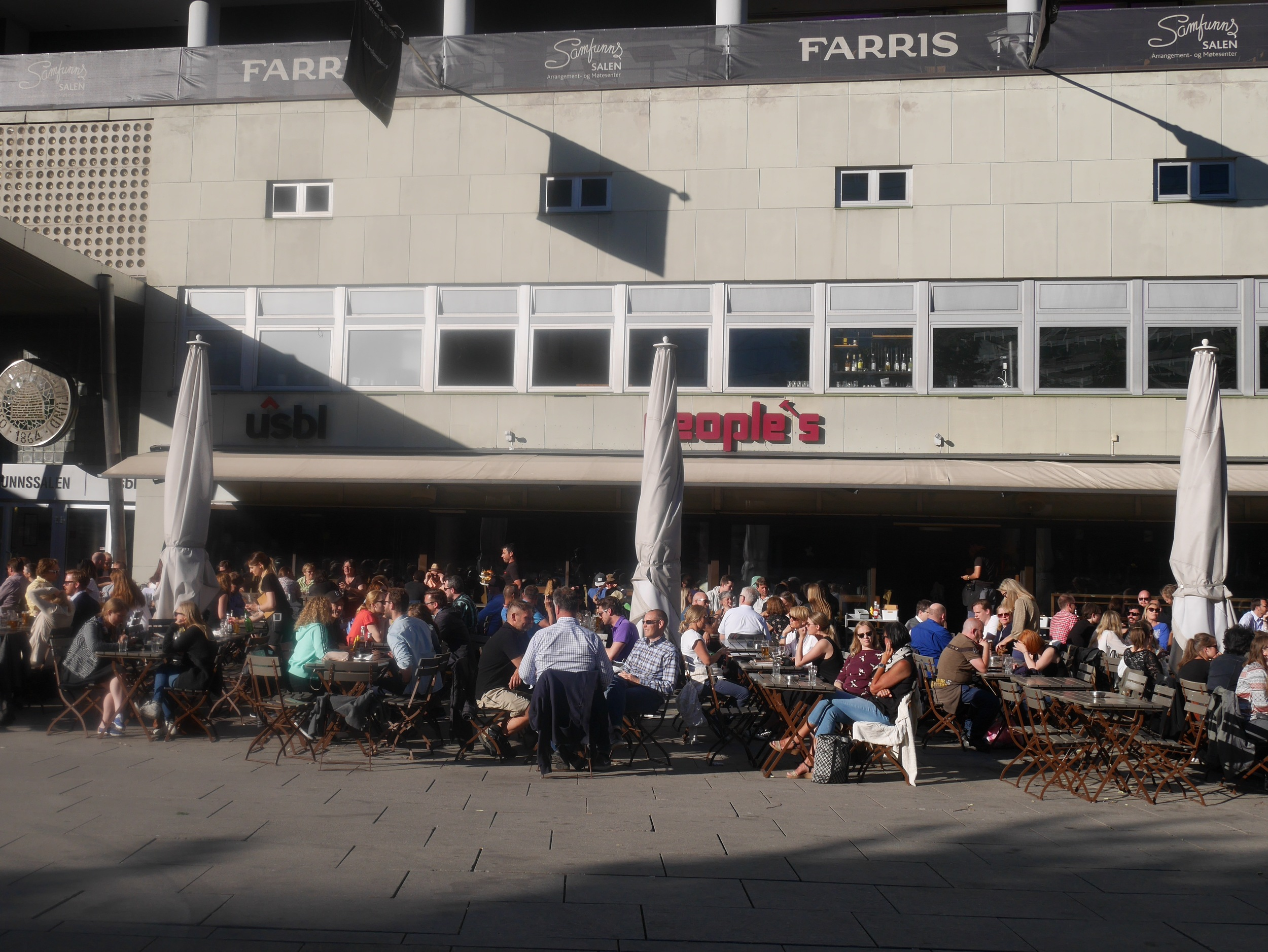 People's Bar and Cafe Oslo, Norway