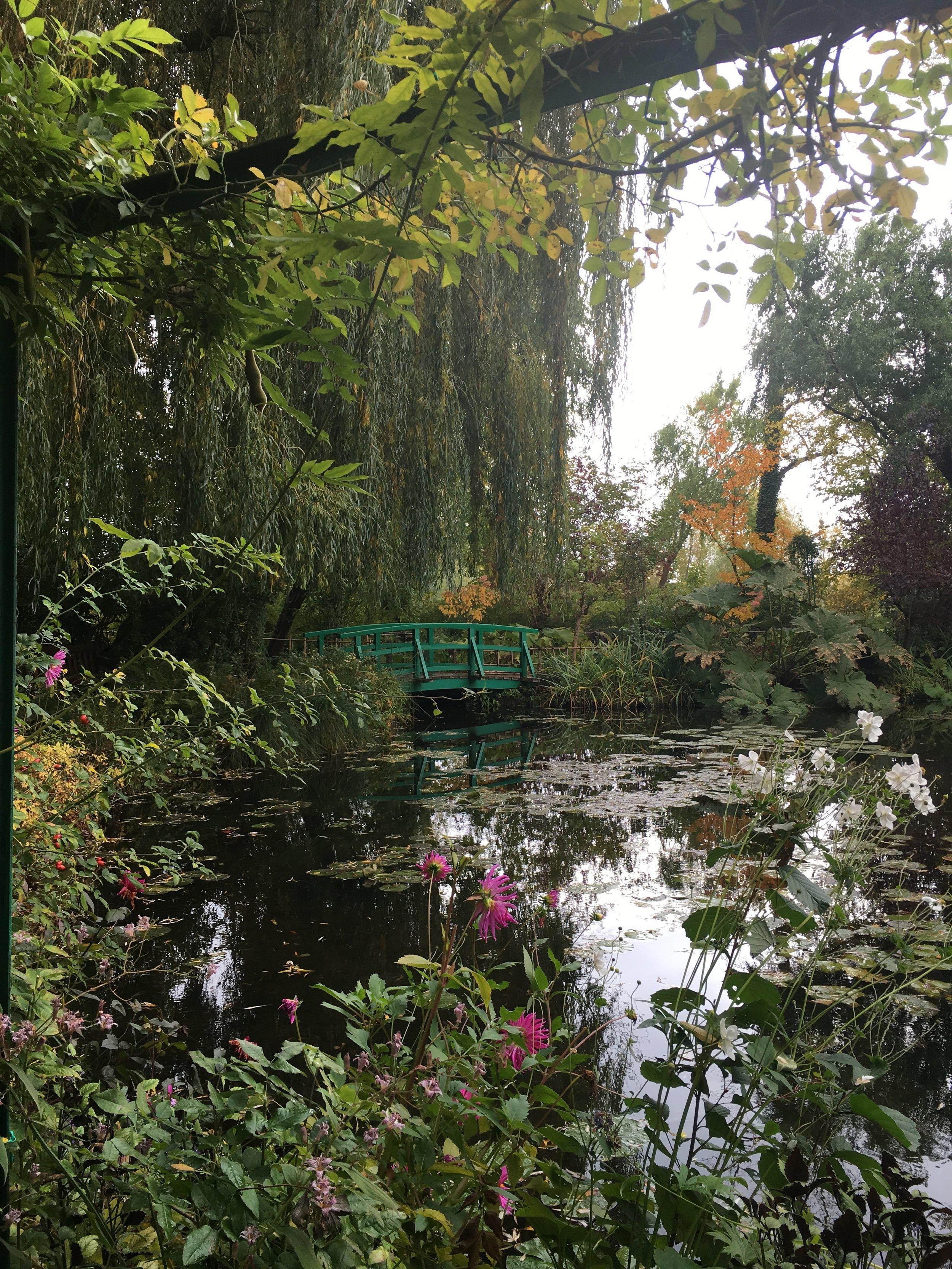 Monet's Garden - before