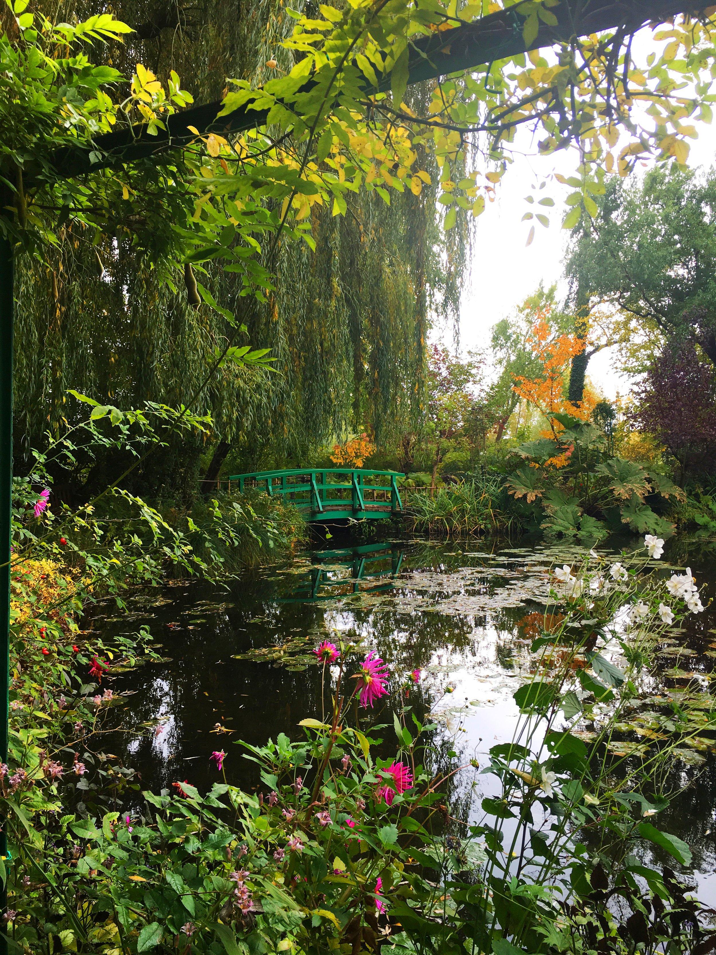 Monet's Garden - after (Pop Song + Saturation)