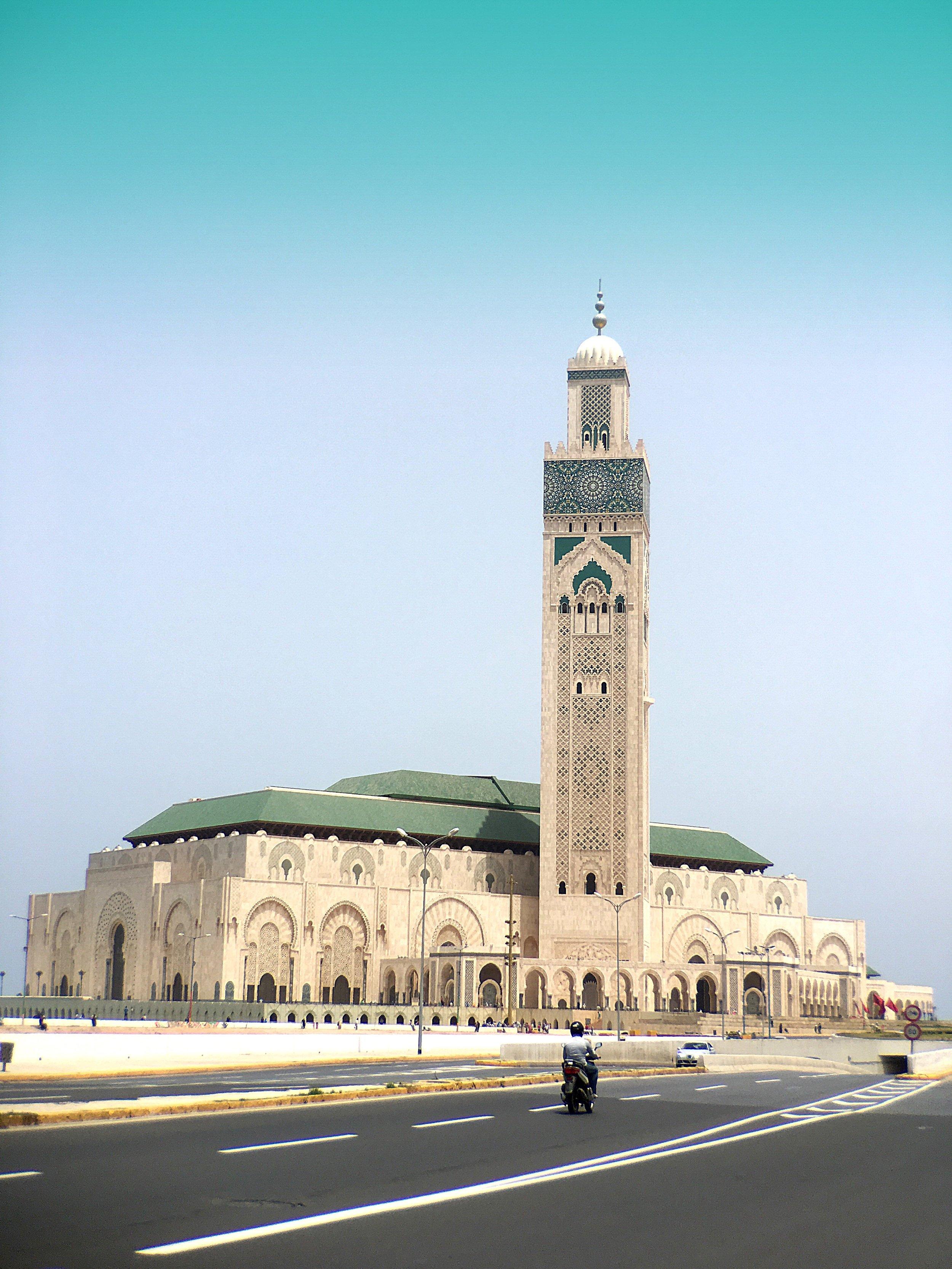 Grande Mosque de Rabat Médina, Morocco (Effect • Color Fog)