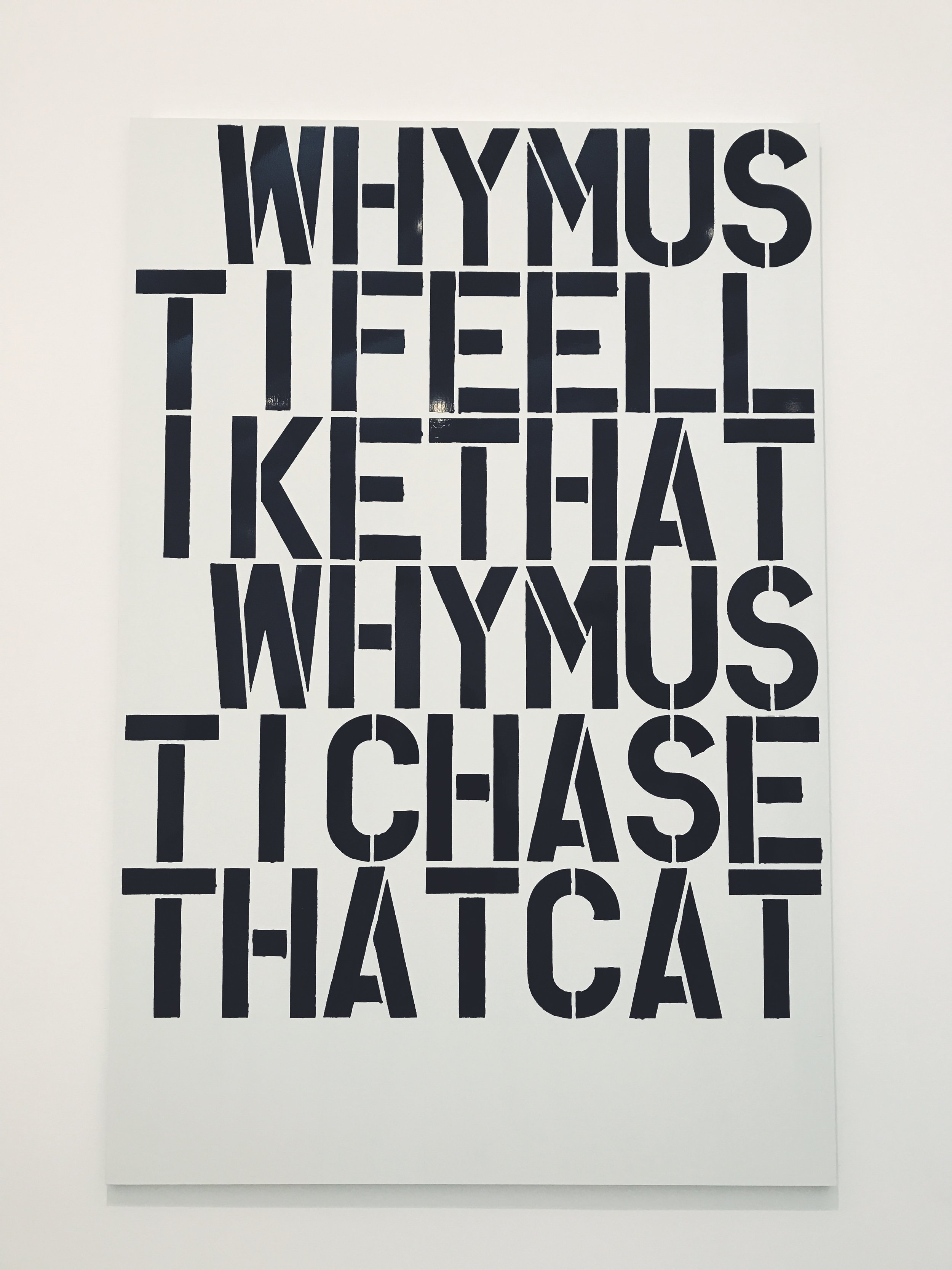 Christopher Wool - Why?