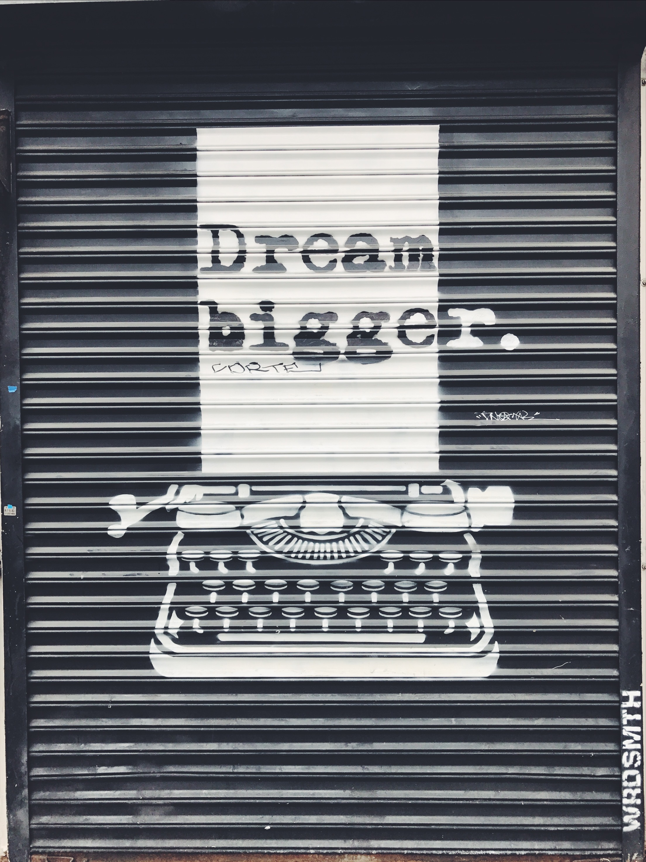Dream Bigger *Wrdsmth