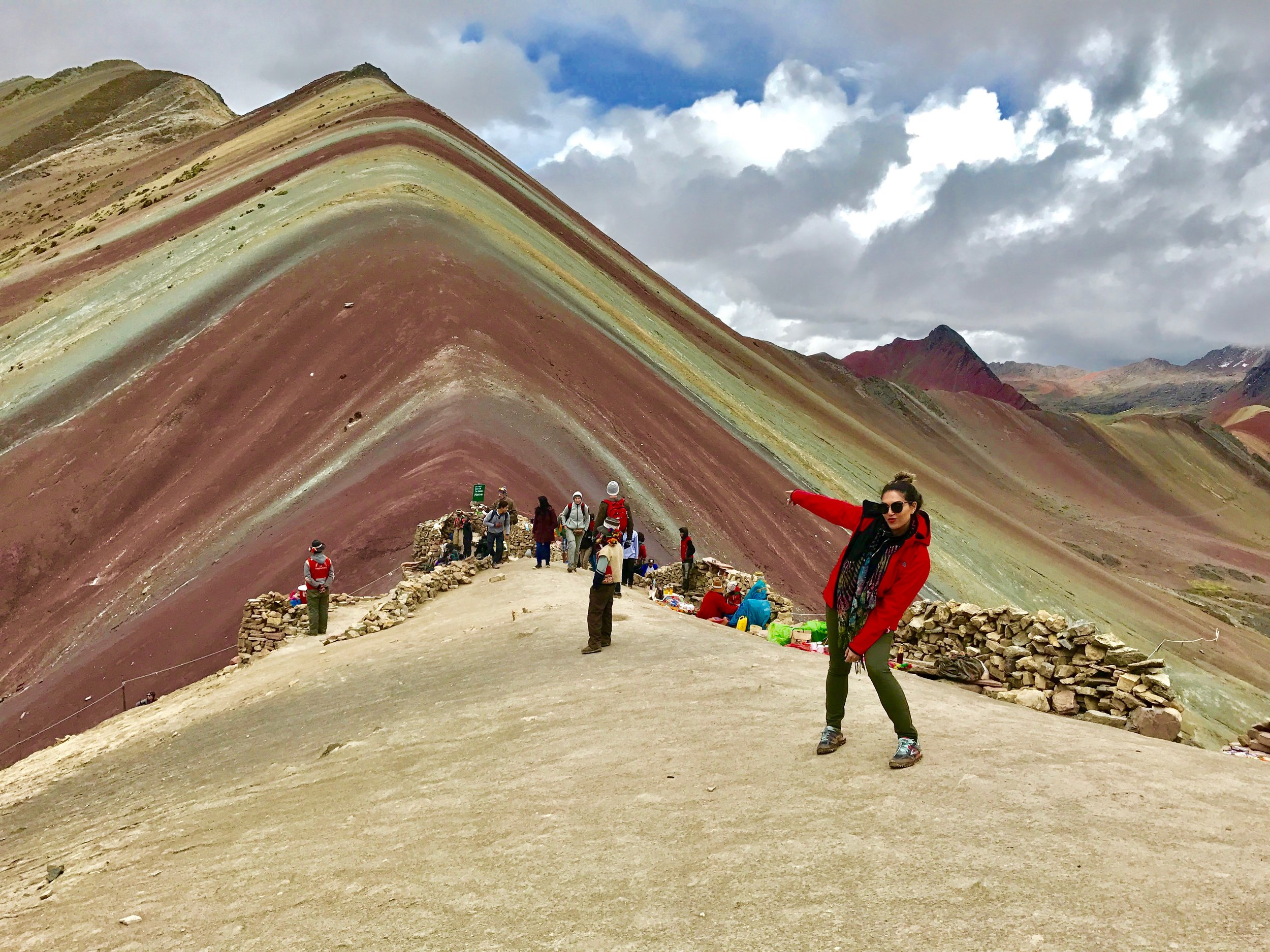 Trekking Rainbow Mountain, Peru