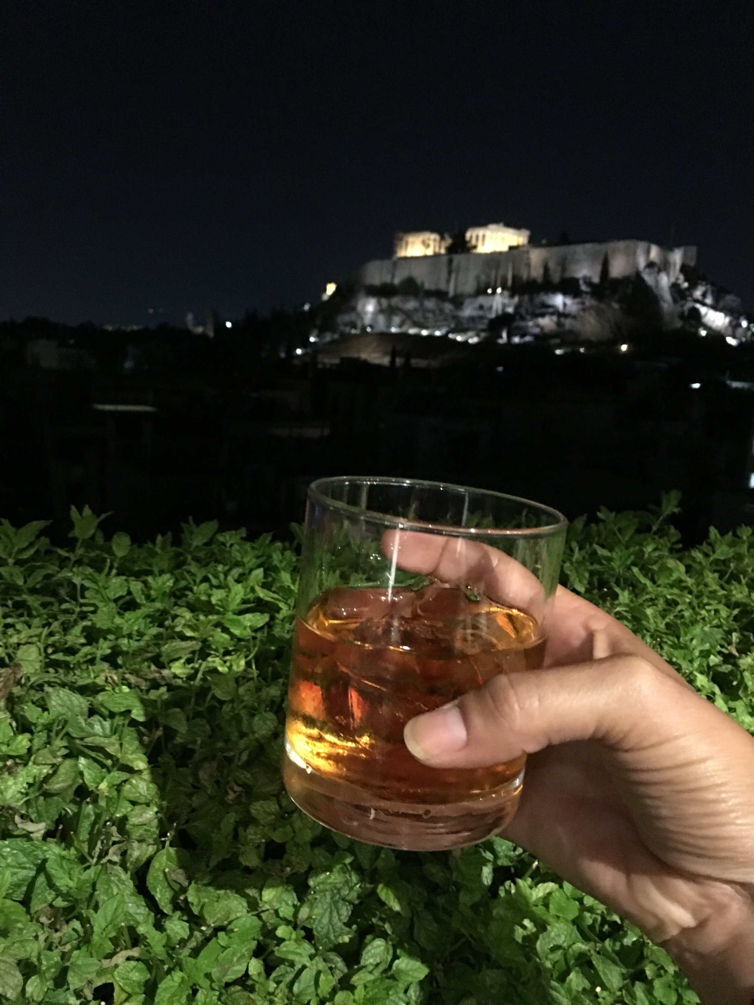 View from the Athens Gate Hotel