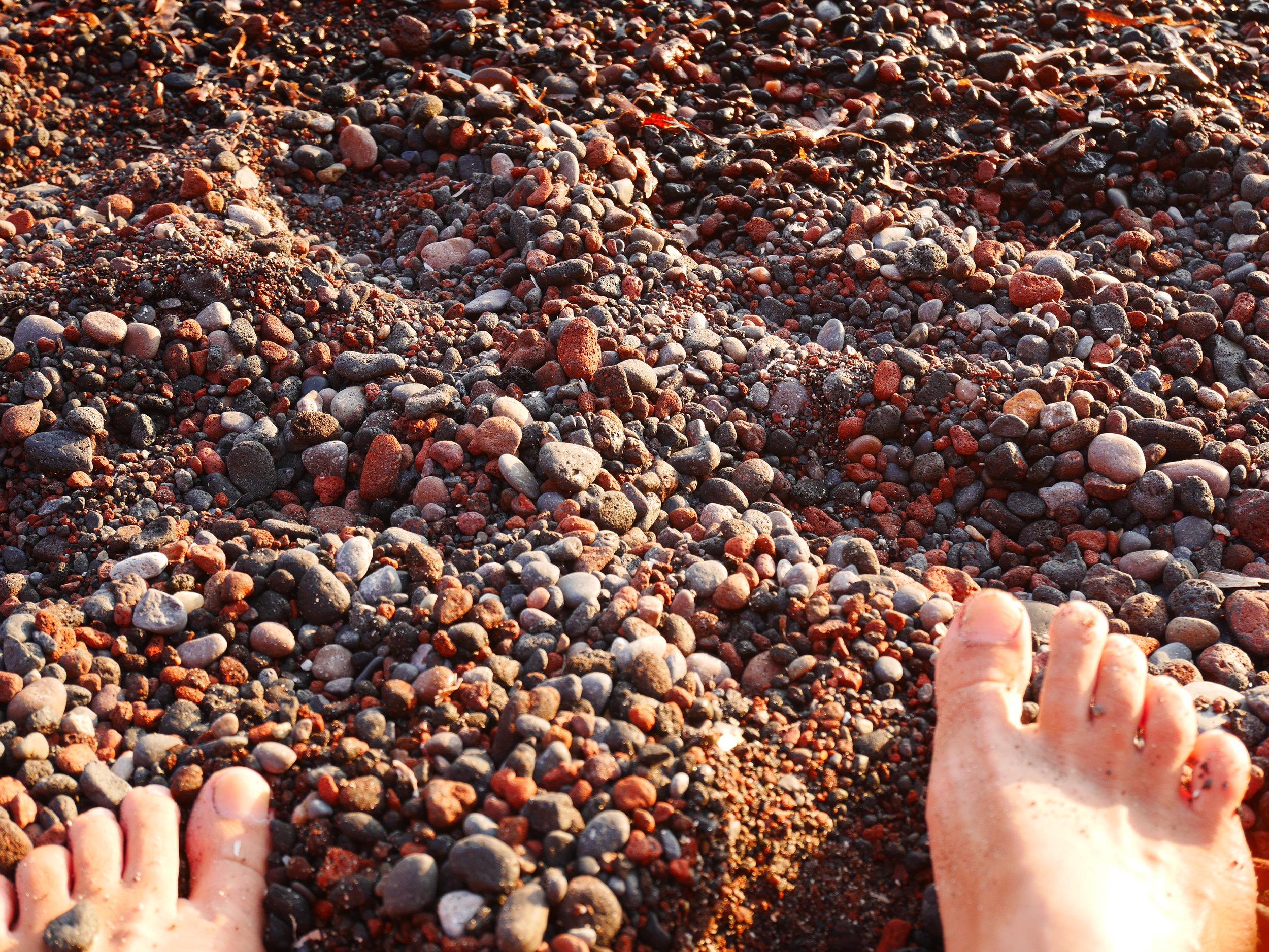 Rocks at Red Beach