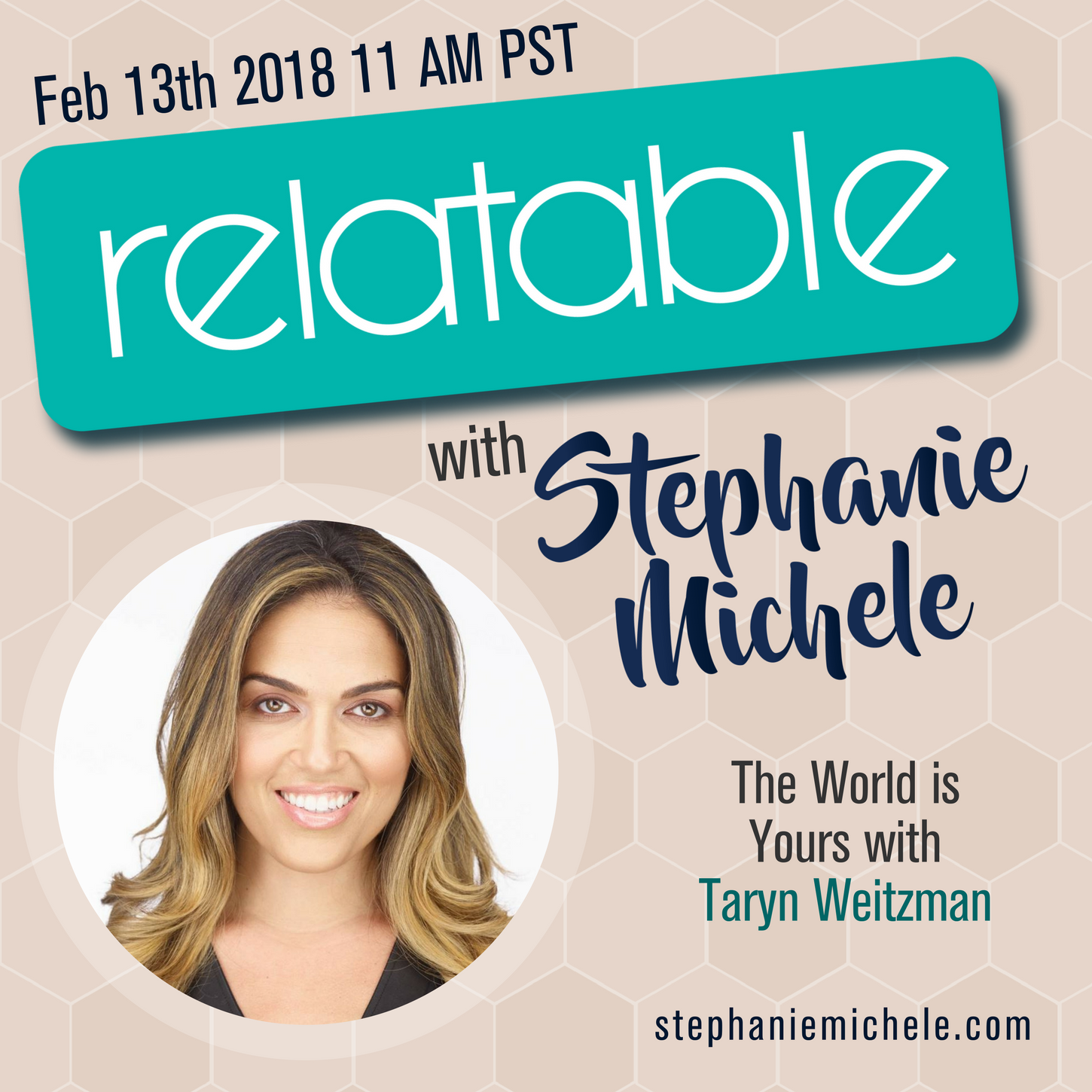 Guest on Relatable with Stephanie Michele