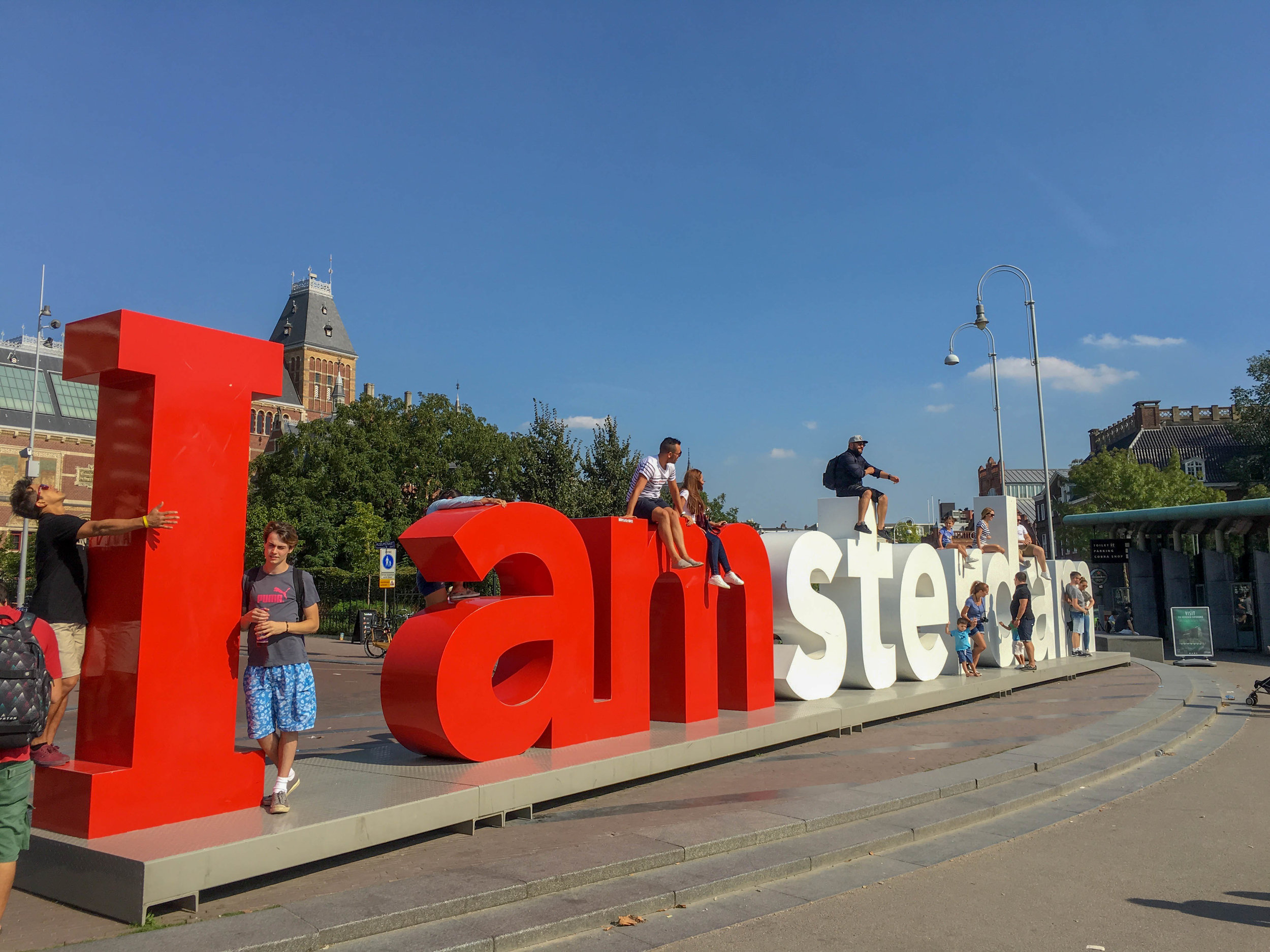 i am amsterdam letters