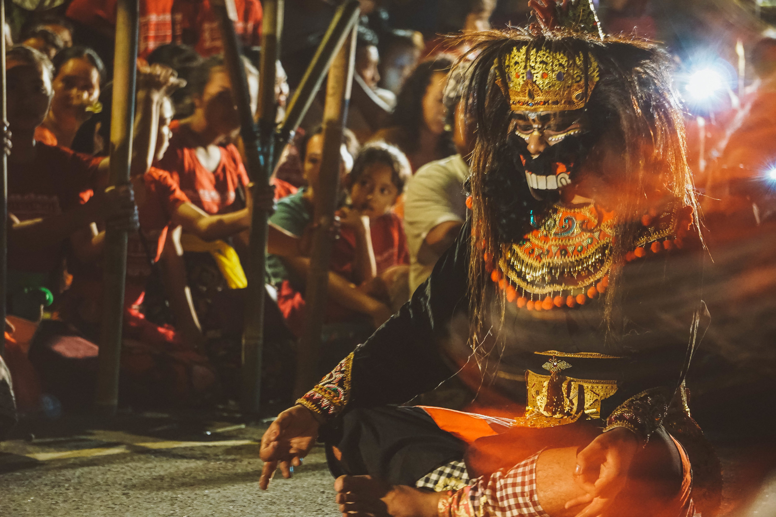 The Dance Before Nyepi
