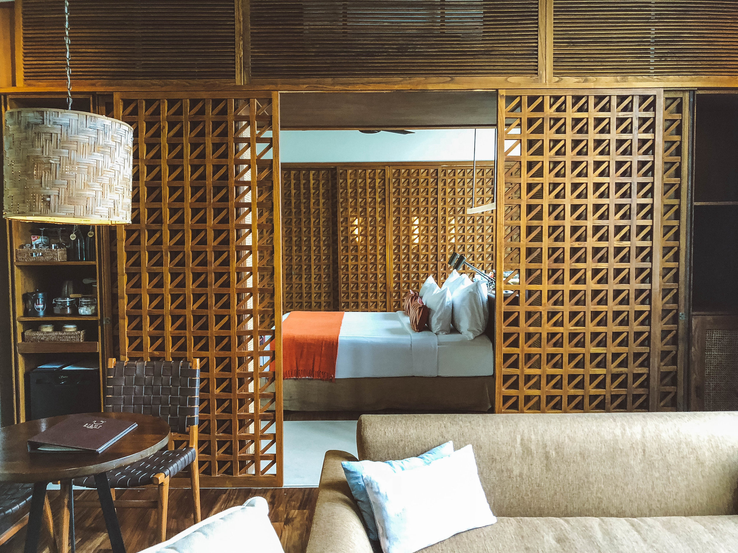 A Garden View Room at Bisma Eight Hotel