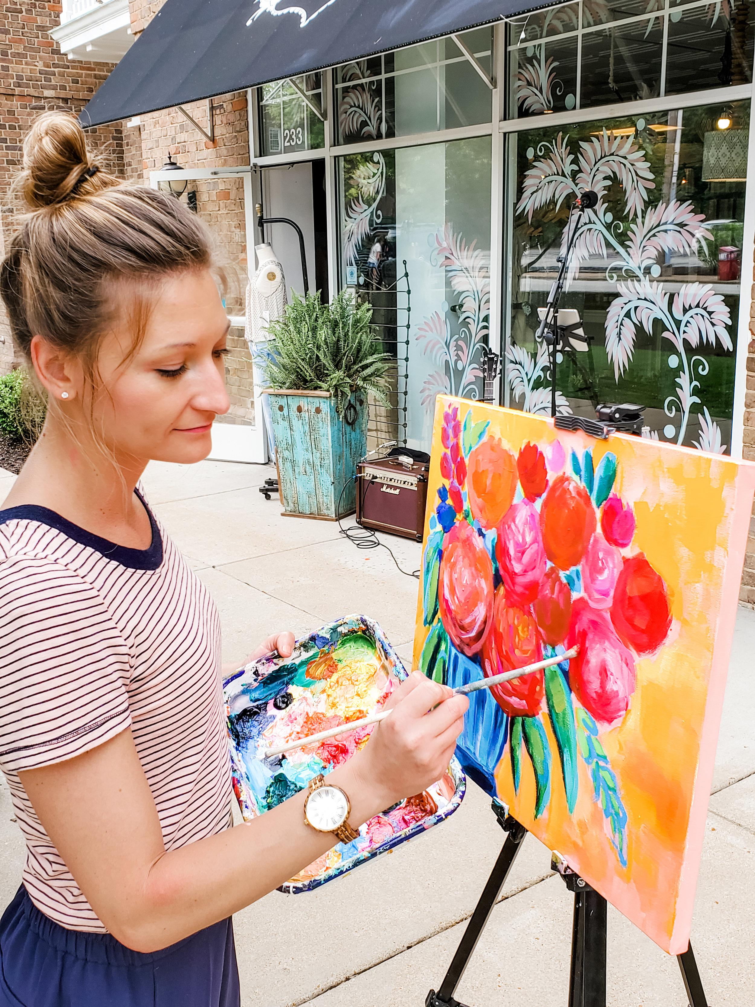 Painting @ Paisley Boutique | June 2019