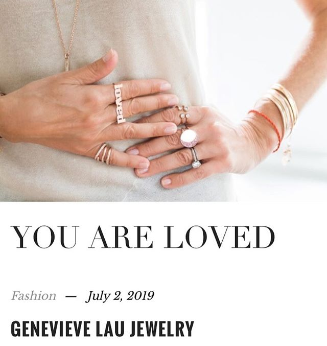Always and Forever Inspiring article by @genevievelaujewelry online at @viemagazine  #finejewelry #online #viemagazine